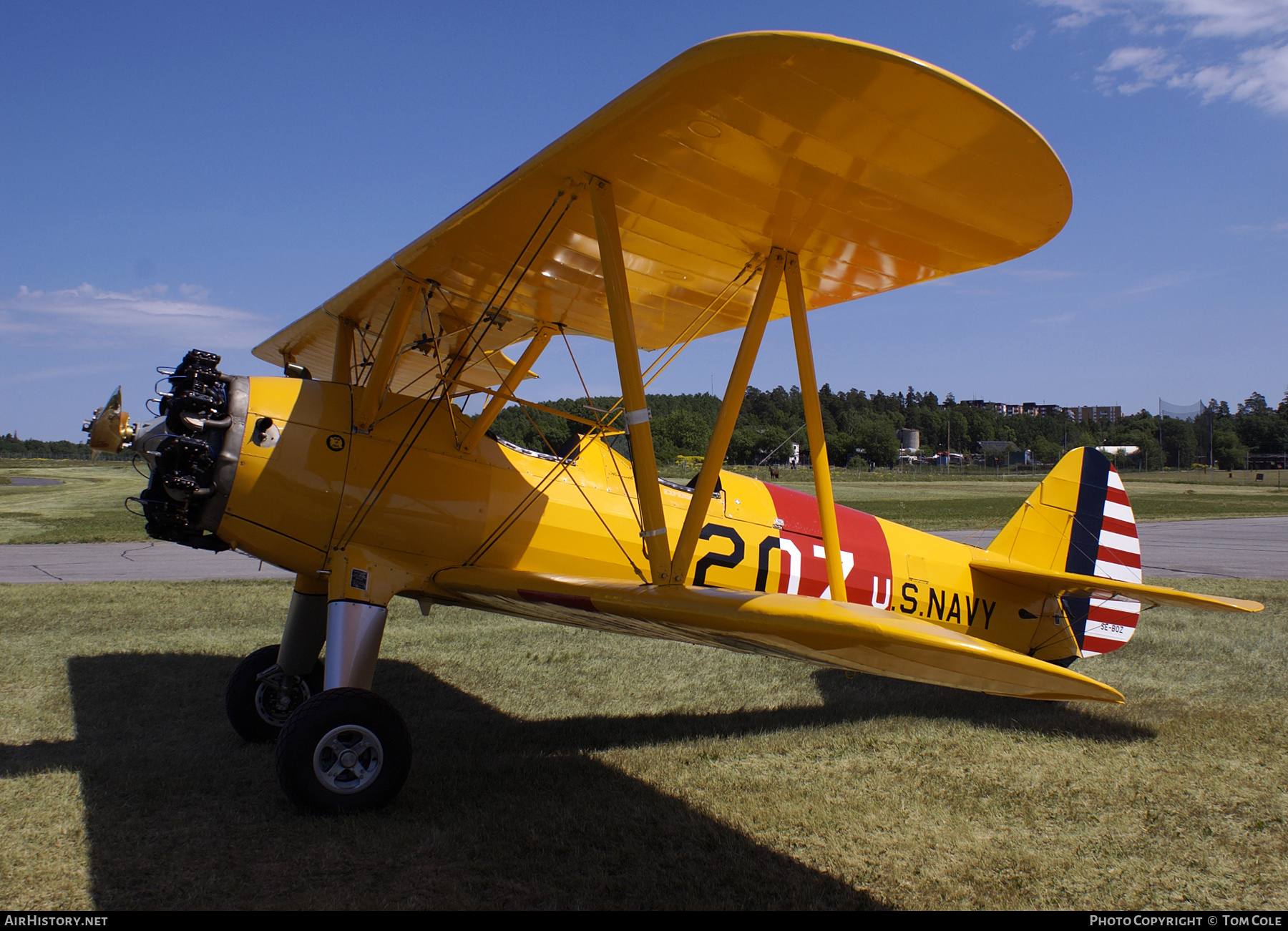 Aircraft Photo of SE-BOZ | Stearman N2S-1 Kaydet (A75N1