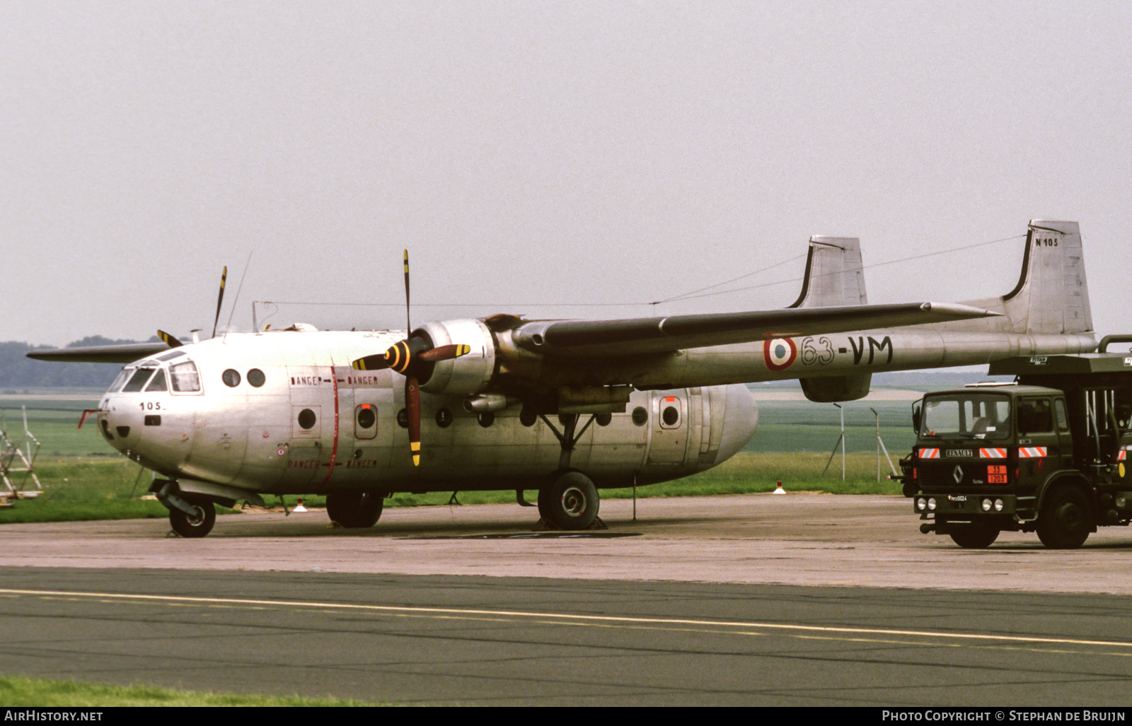 Aircraft Photo of 105 | Nord 2501F Noratlas | France - Air Force | AirHistory.net