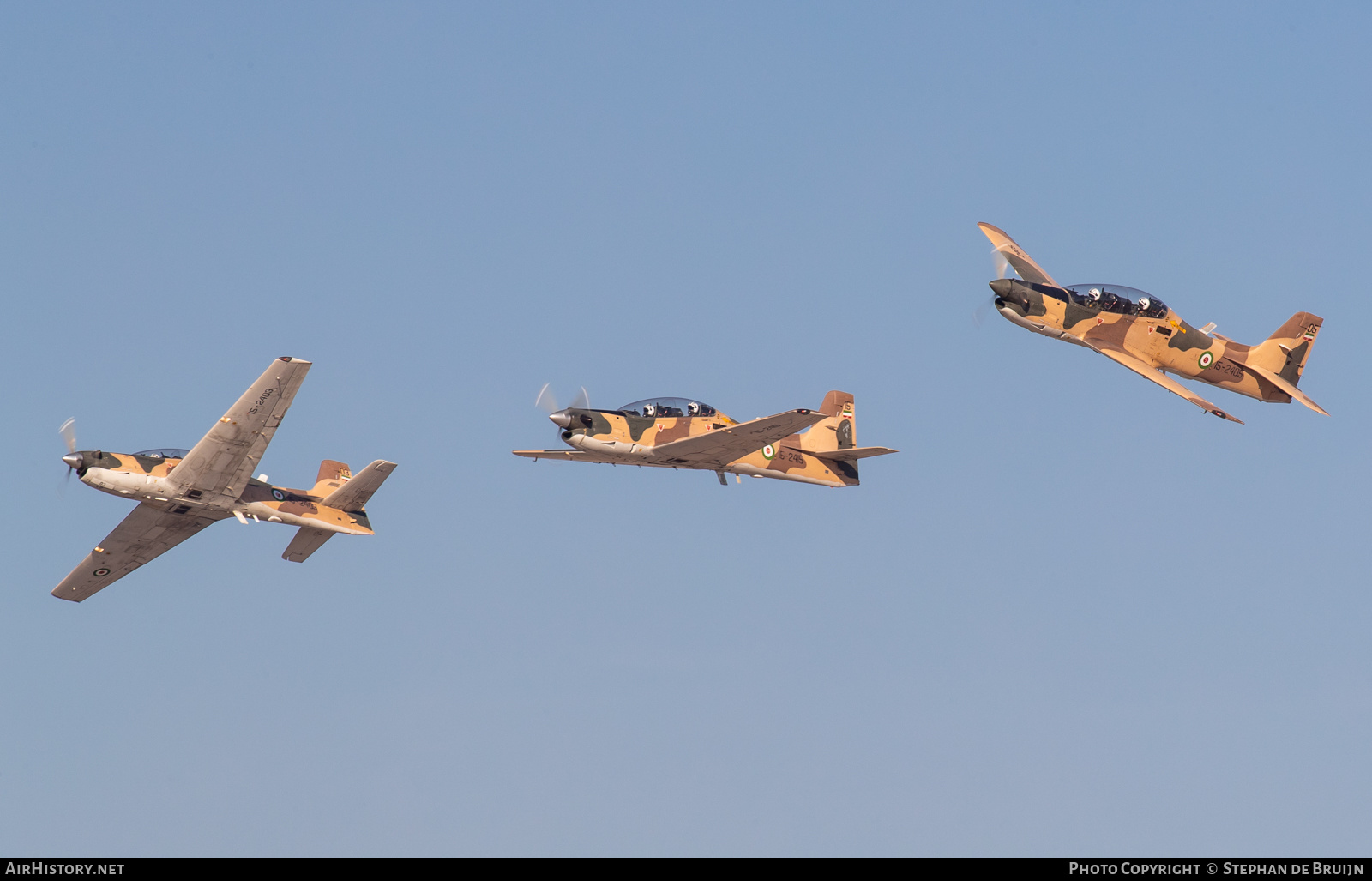 Aircraft Photo of 15-2415 | Embraer EMB-312 Tucano | Iran - Revolutionary Guard Air Force | AirHistory.net