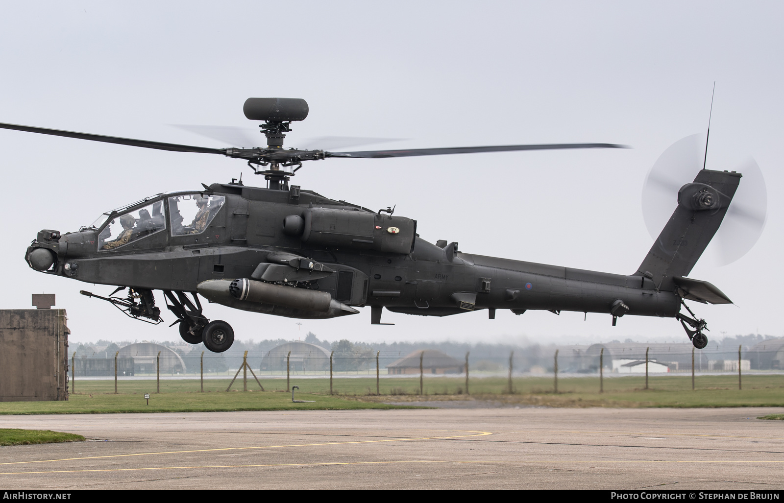 Aircraft Photo of ZJ213 | Boeing AH-64D Apache Longbow | UK - Army | AirHistory.net
