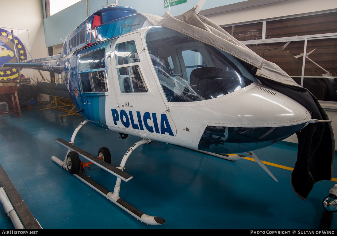 Aircraft Photo of PN-112 | Bell 206B-2 JetRanger II | Ecuador - Police | AirHistory.net