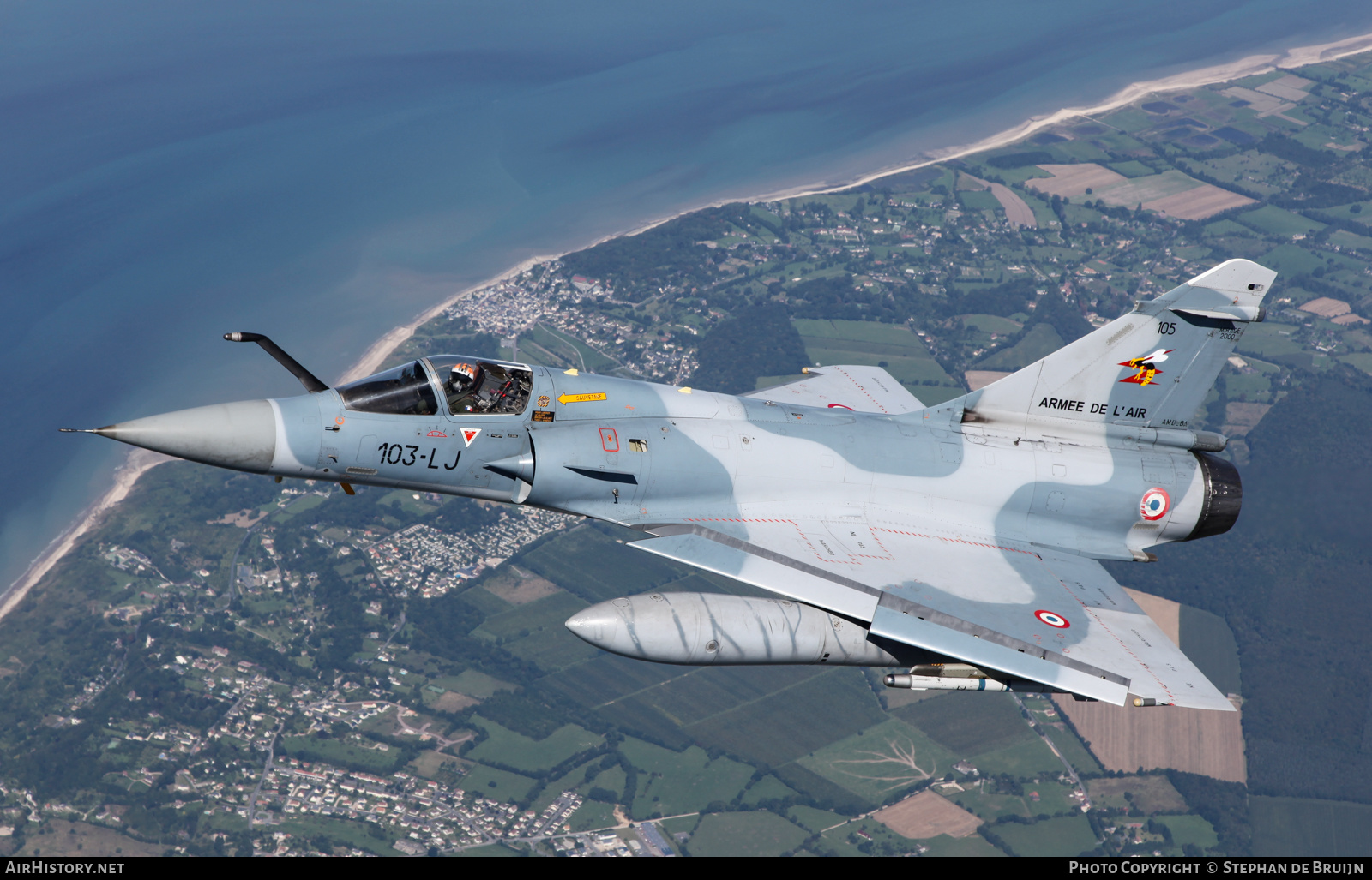 Aircraft Photo of 105 | Dassault Mirage 2000C | France - Air Force | AirHistory.net