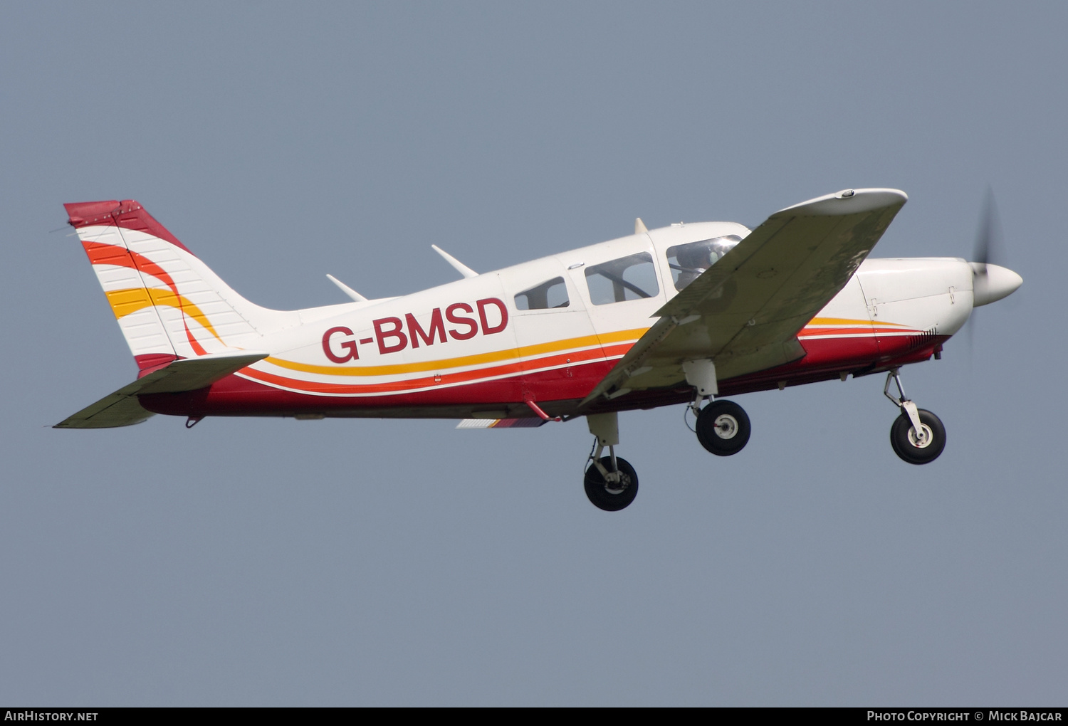 Aircraft Photo of G-BMSD | Piper PA-28-181 Archer II | AirHistory.net #135355