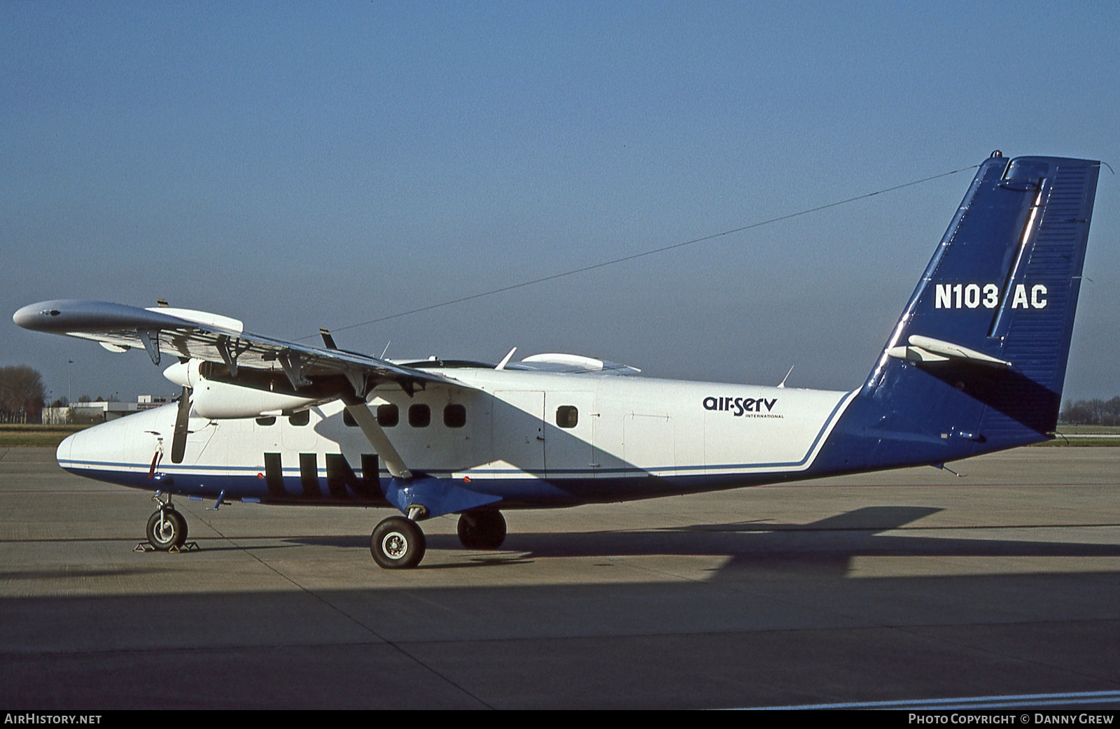 Aircraft Photo of N103AC | De Havilland Canada DHC-6-300 Twin Otter | Air Serv International | AirHistory.net