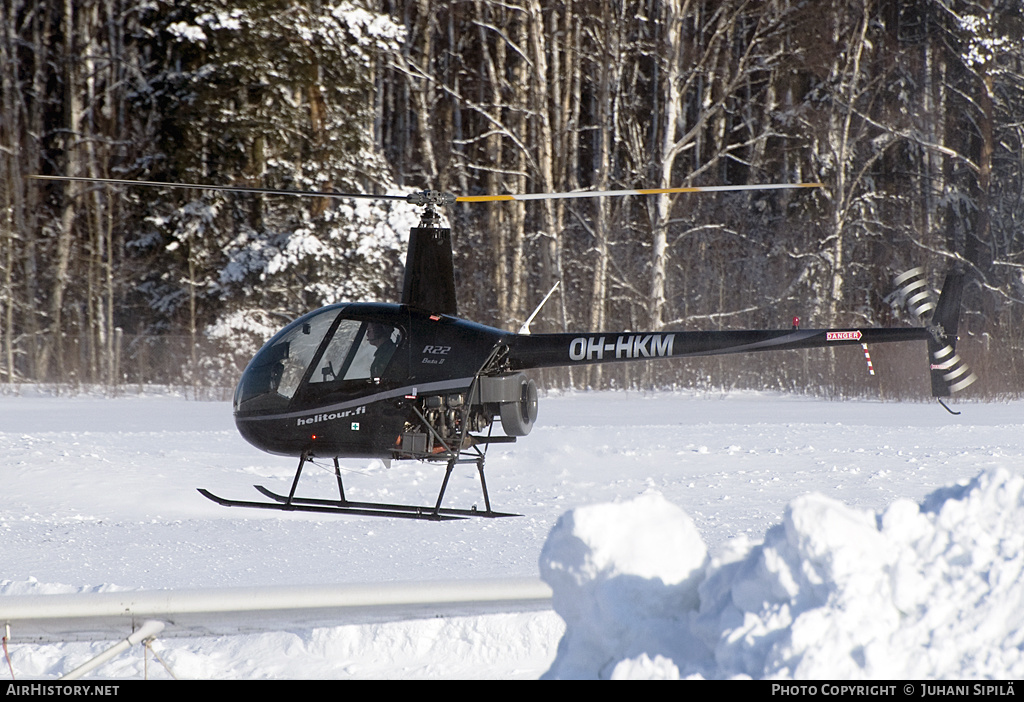 Aircraft Photo of OH-HKM | Robinson R-22 Beta II | Helitour | AirHistory.net #137820