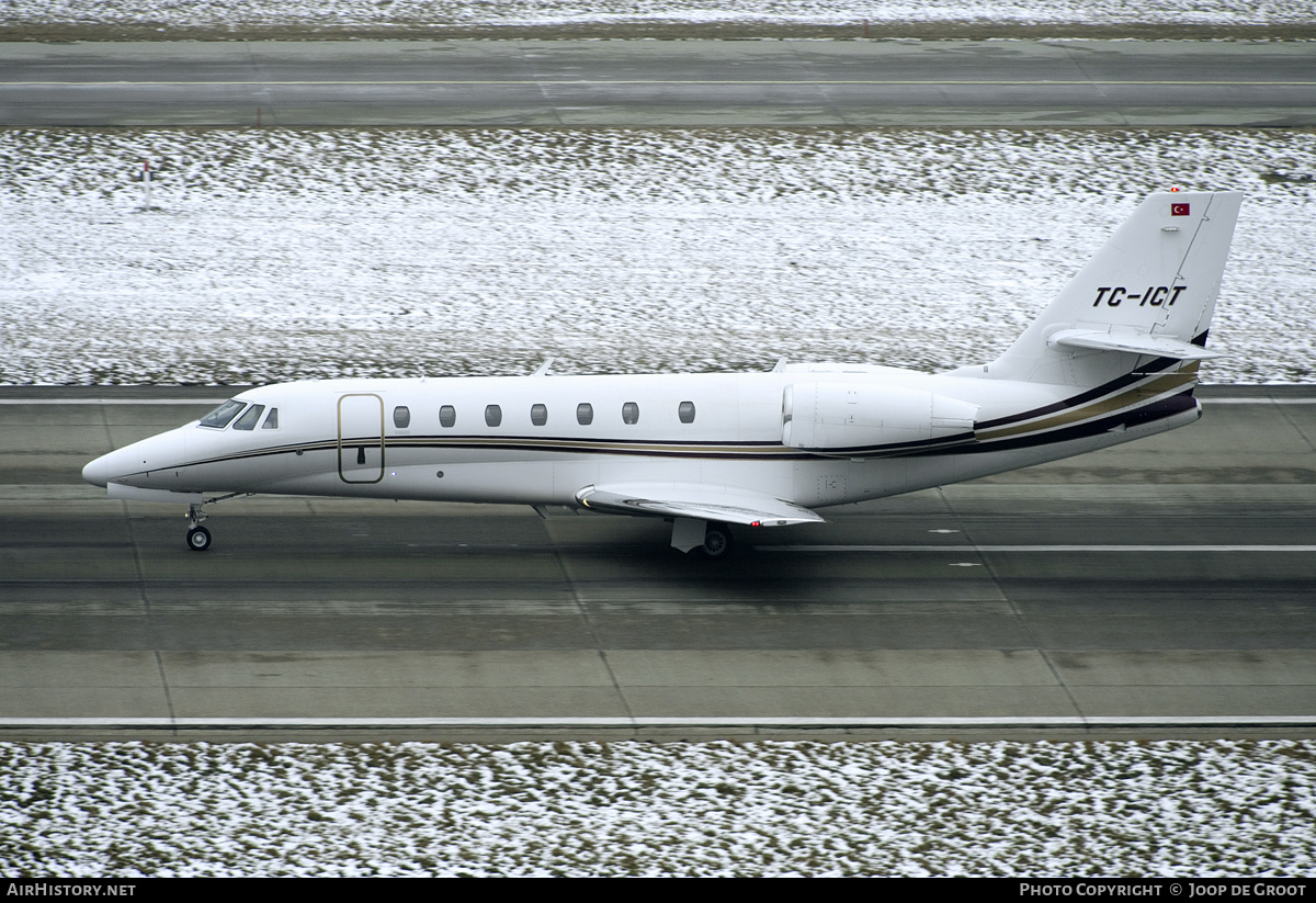 Aircraft Photo of TC-ICT | Cessna 680 Citation Sovereign | AirHistory.net