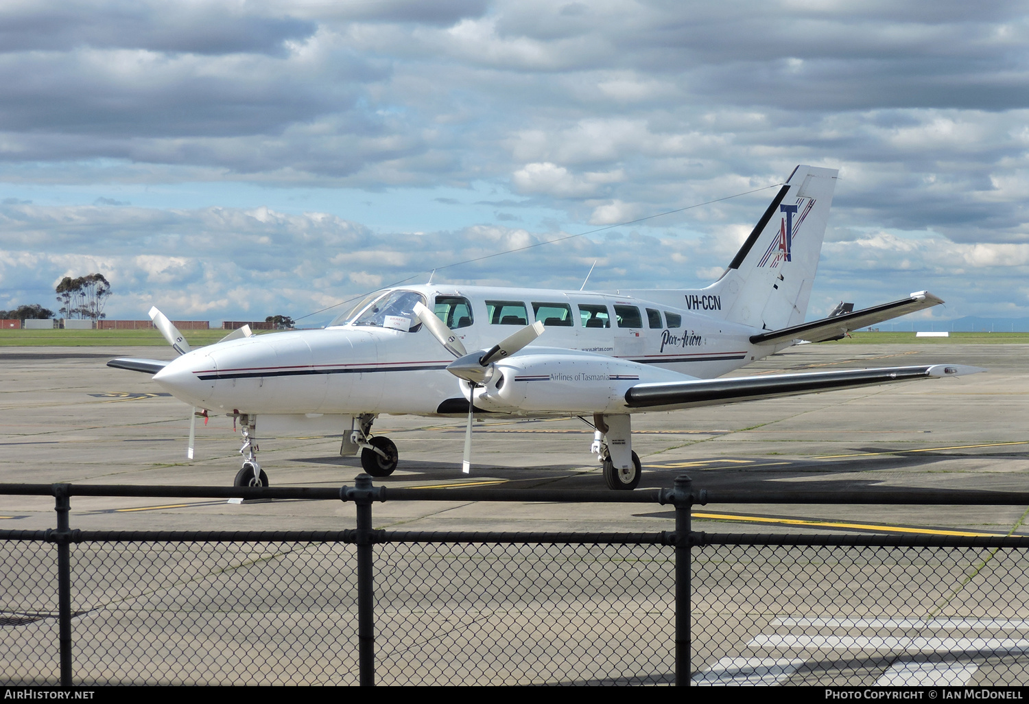 Aircraft Photo of VH-CCN | Cessna 404 Titan | Par-Avion | AirHistory.net #139278