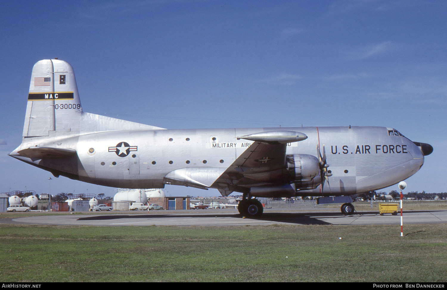 Aircraft Photo of 53-0009 / 0-30009 | Douglas C-124C Globemaster II | USA - Air Force | AirHistory.net #139558