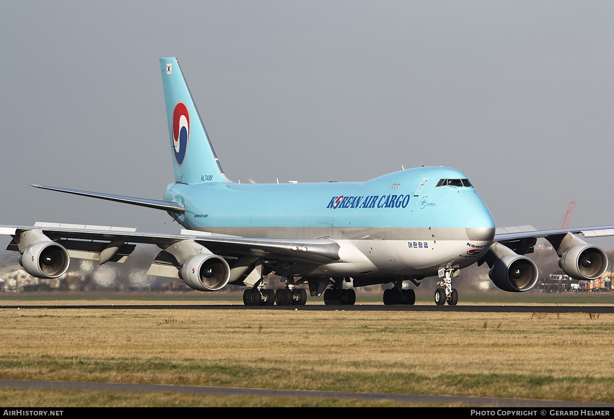 Aircraft Photo of HL7499 | Boeing 747-4B5F/ER/SCD | Korean Air Cargo | AirHistory.net