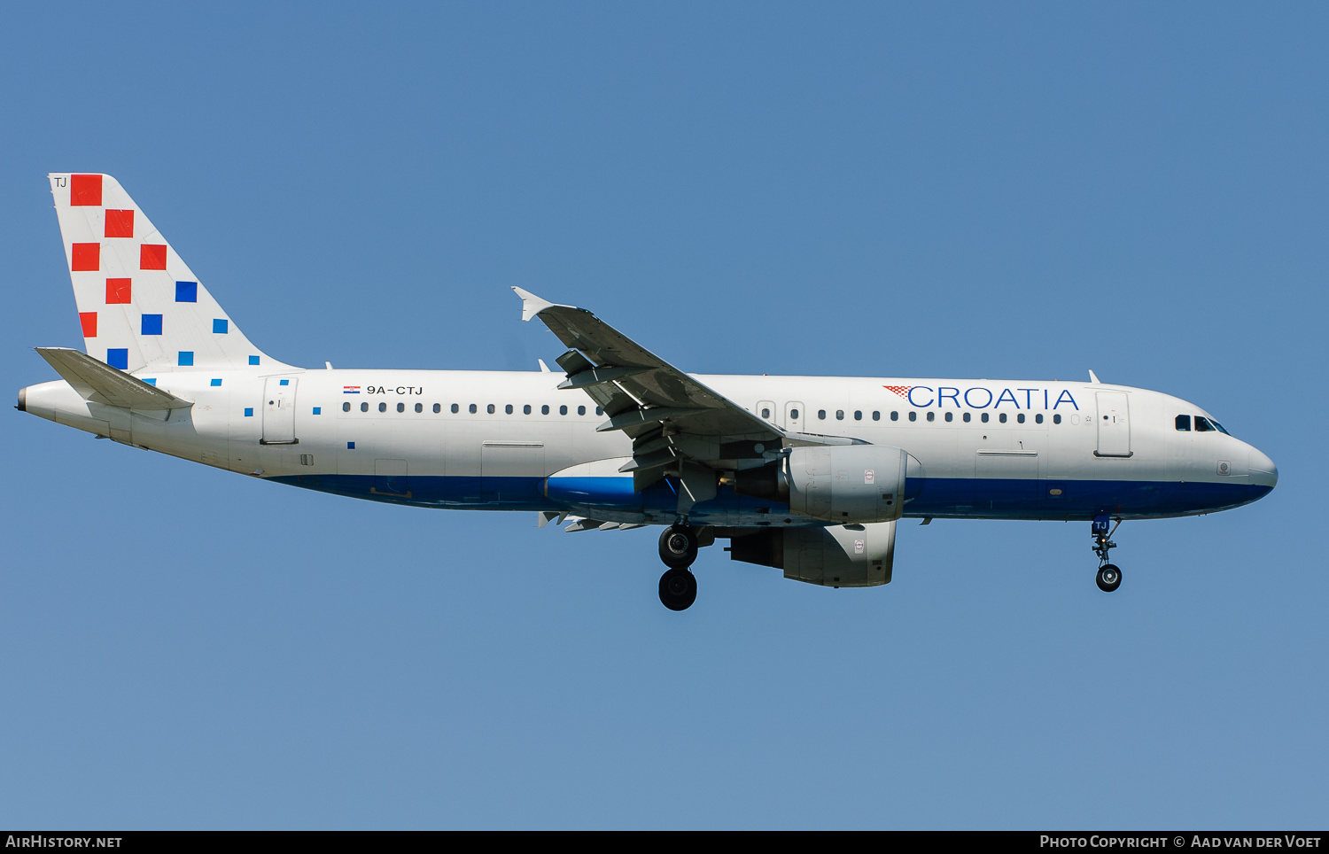 Aircraft Photo of 9A-CTJ | Airbus A320-214 | Croatia Airlines | AirHistory.net