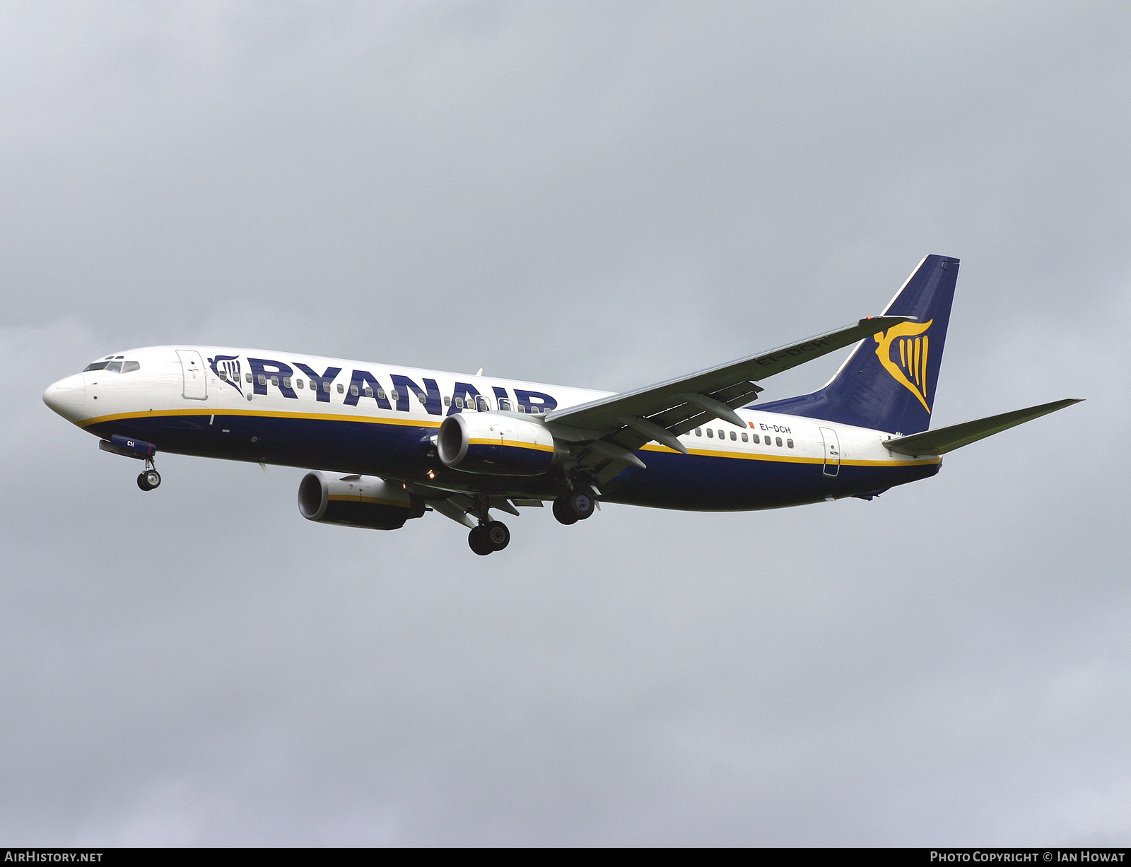 Aircraft Photo of EI-DCH | Boeing 737-8AS | Ryanair | AirHistory.net #140945