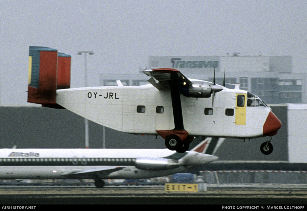 Aircraft Photo of OY-JRL | Short SC.7 Skyvan 3-100 | Danish Air Transport | AirHistory.net