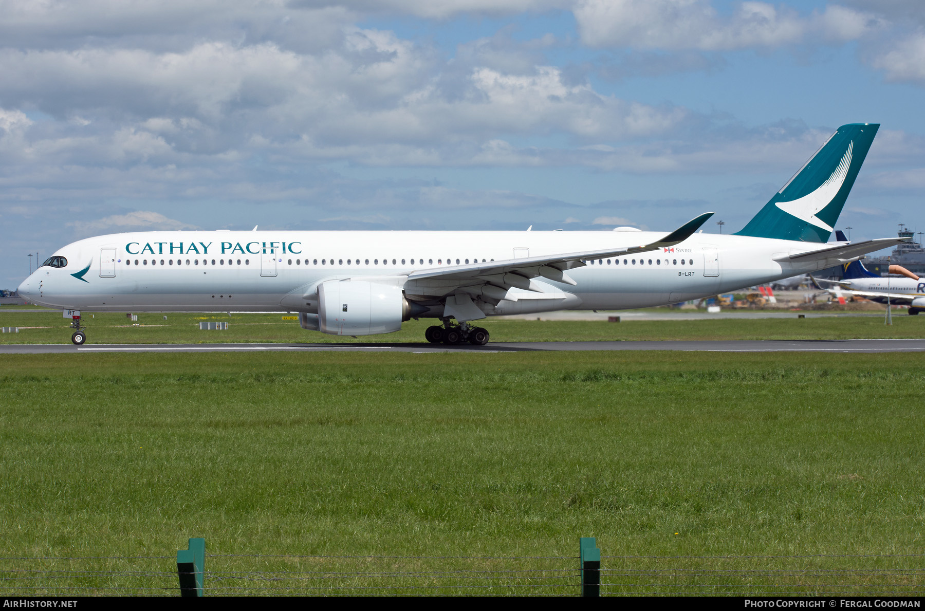 Aircraft Photo of B-LRT | Airbus A350-941 | Cathay Pacific Airways | AirHistory.net