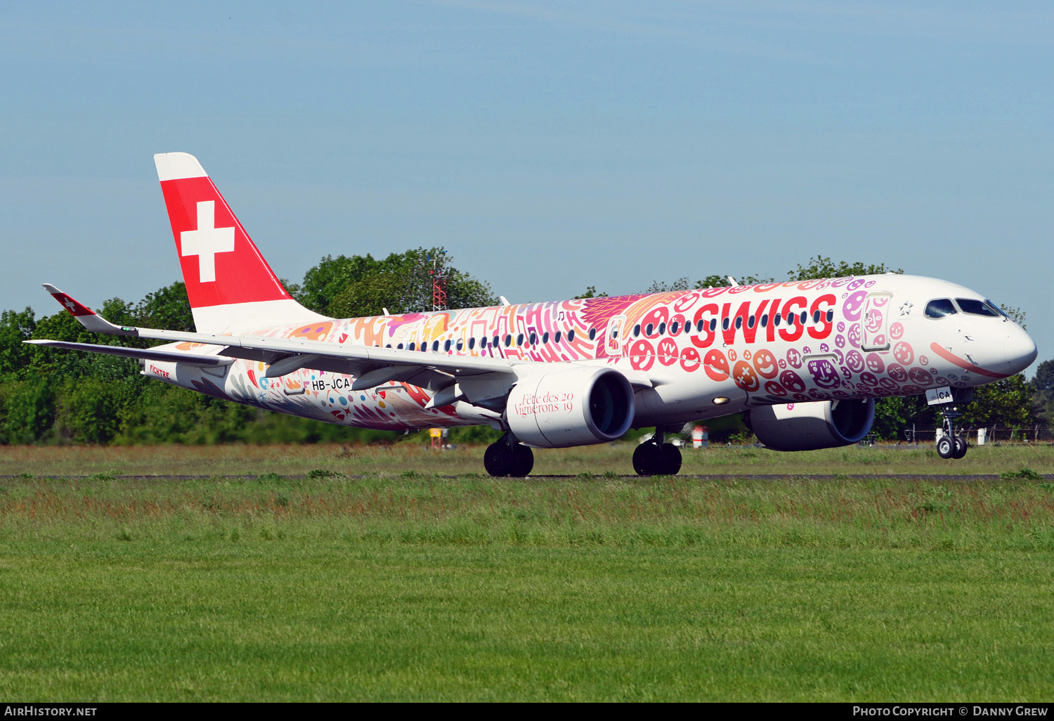 Aircraft Photo of HB-JCA | Bombardier CSeries CS300 (BD-500-1A11) | Swiss International Air Lines | AirHistory.net