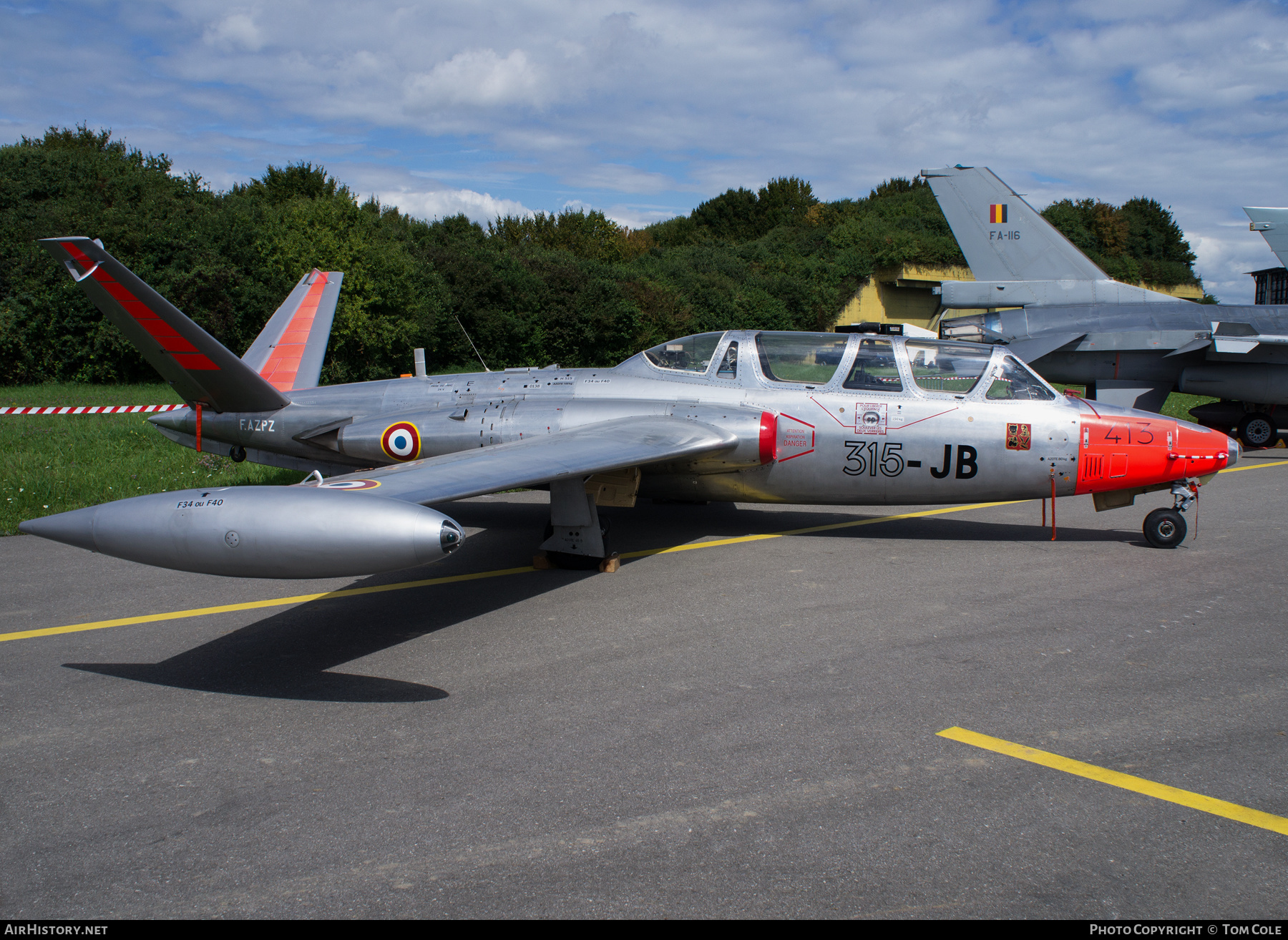 Aircraft Photo of F-AZPZ | Fouga CM-170R Magister | France - Air Force | AirHistory.net
