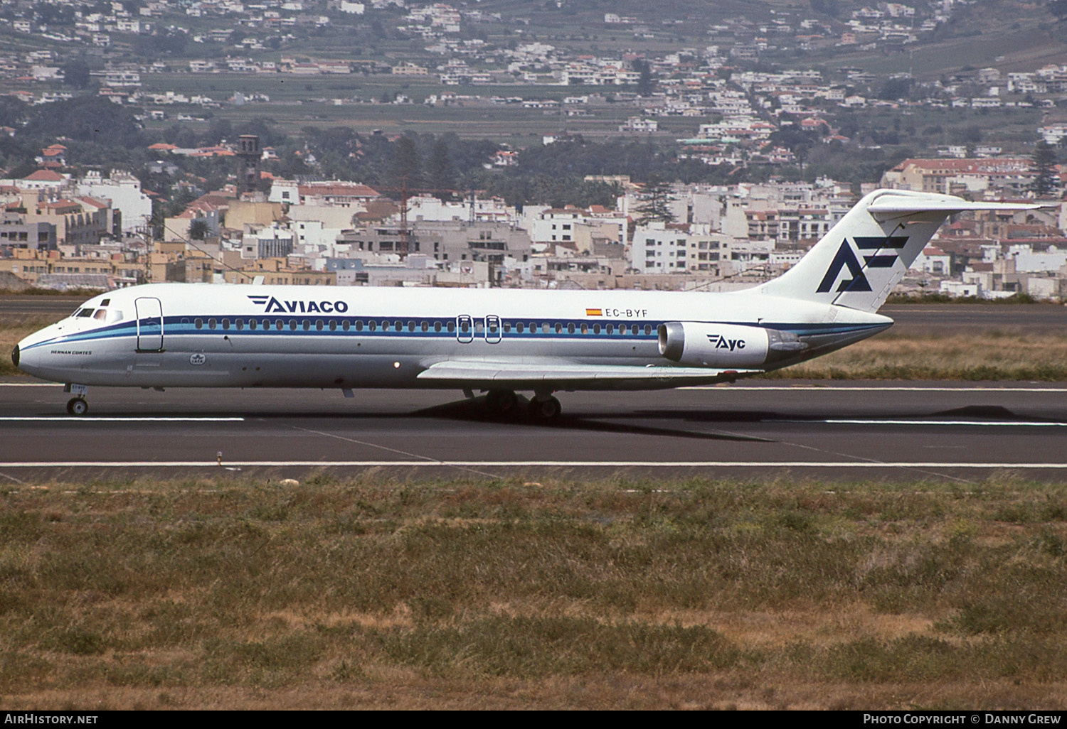 Aircraft Photo of EC-BYF | Douglas DC-9-32 | Aviaco | AirHistory.net