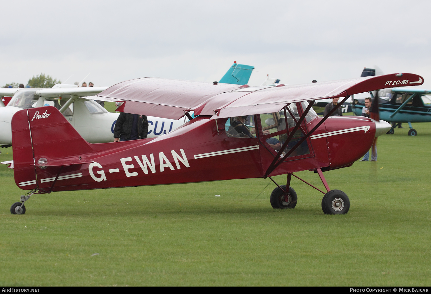 Aircraft Photo of G-EWAN | Prostar PT-2C-160 | AirHistory.net