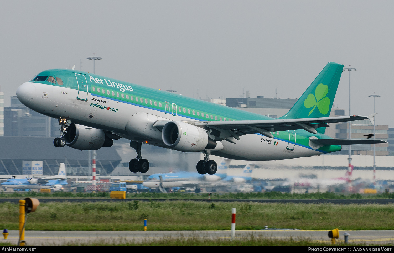 Aircraft Photo of EI-DEE | Airbus A320-214 | Aer Lingus | AirHistory.net