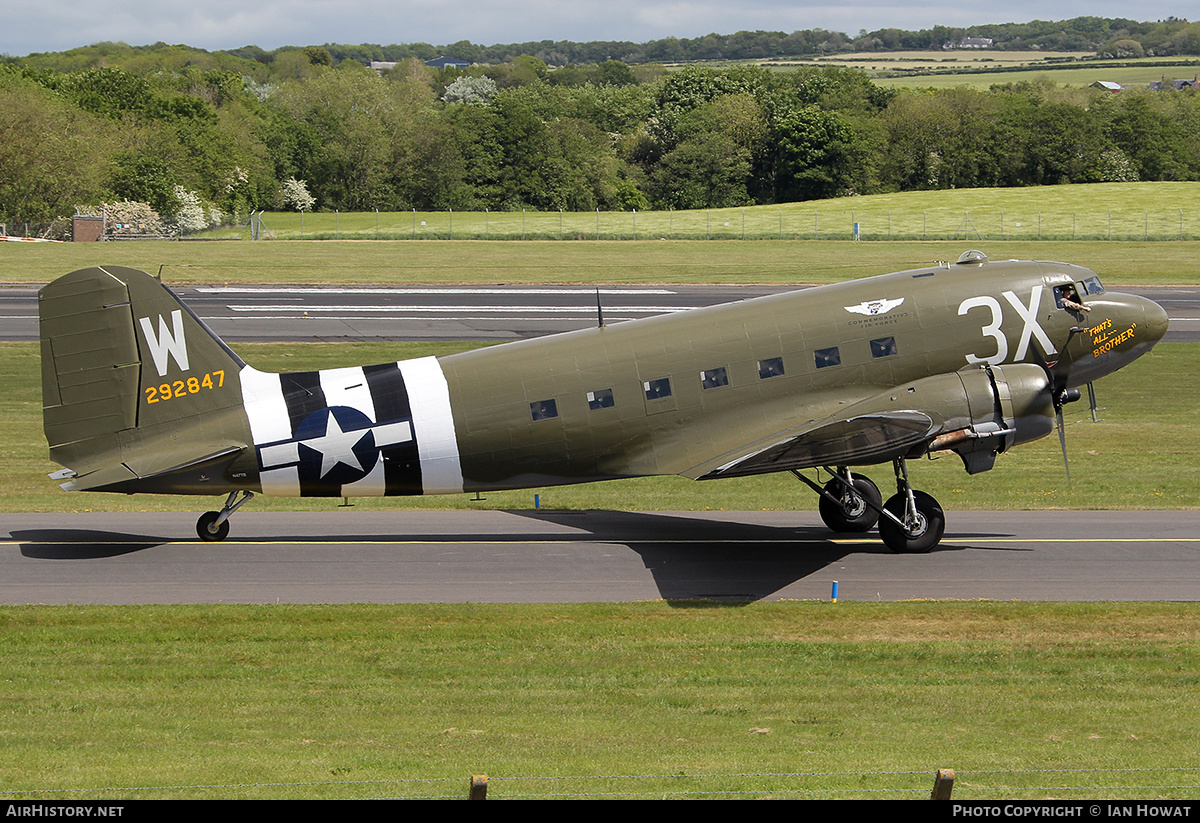 Aircraft Photo of N47TB / 292847 | Douglas C-47A Skytrain | Commemorative Air Force | USA - Air Force | AirHistory.net