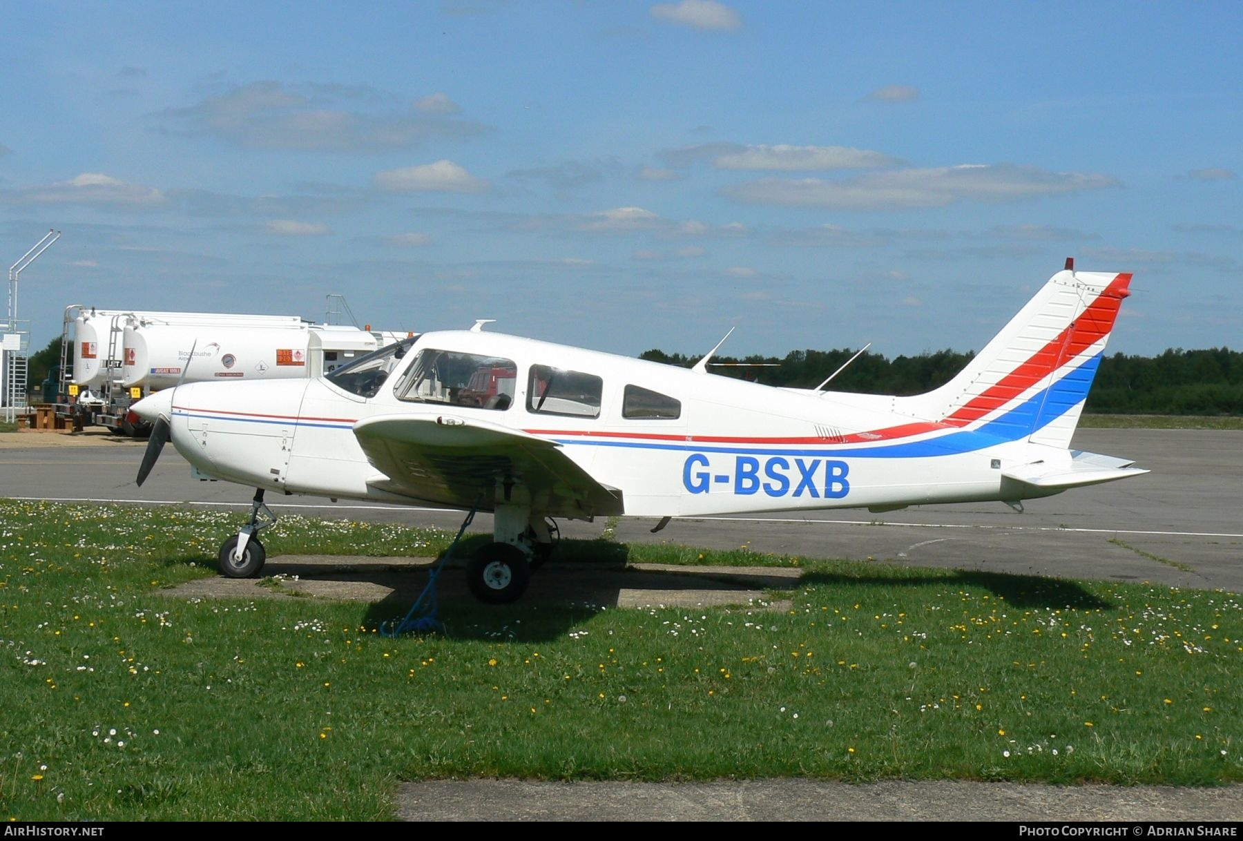 Aircraft Photo of G-BSXB | Piper PA-28-161 Cadet | AirHistory.net