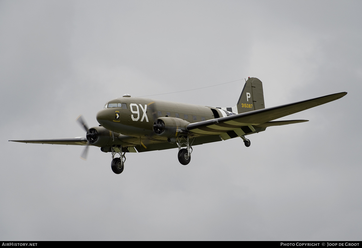 Aircraft Photo of N150D / 315087 | Douglas C-47 Skytrain | USA - Air Force | AirHistory.net