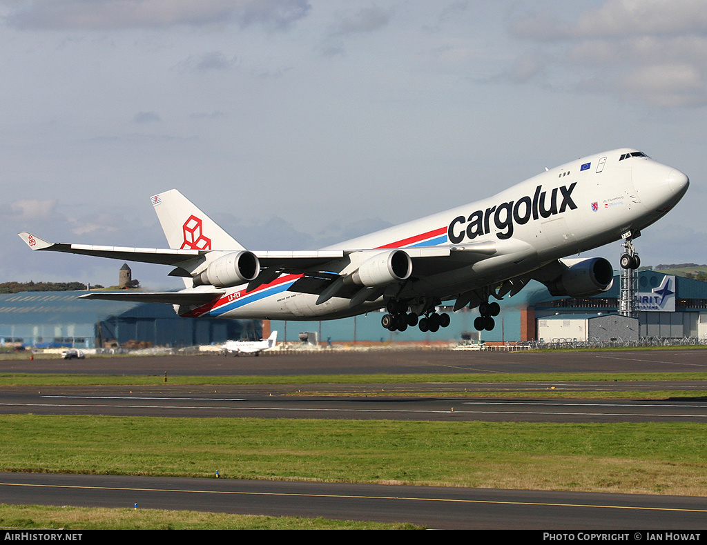 Aircraft Photo of LX-FCV | Boeing 747-4R7F/SCD | Cargolux | AirHistory.net