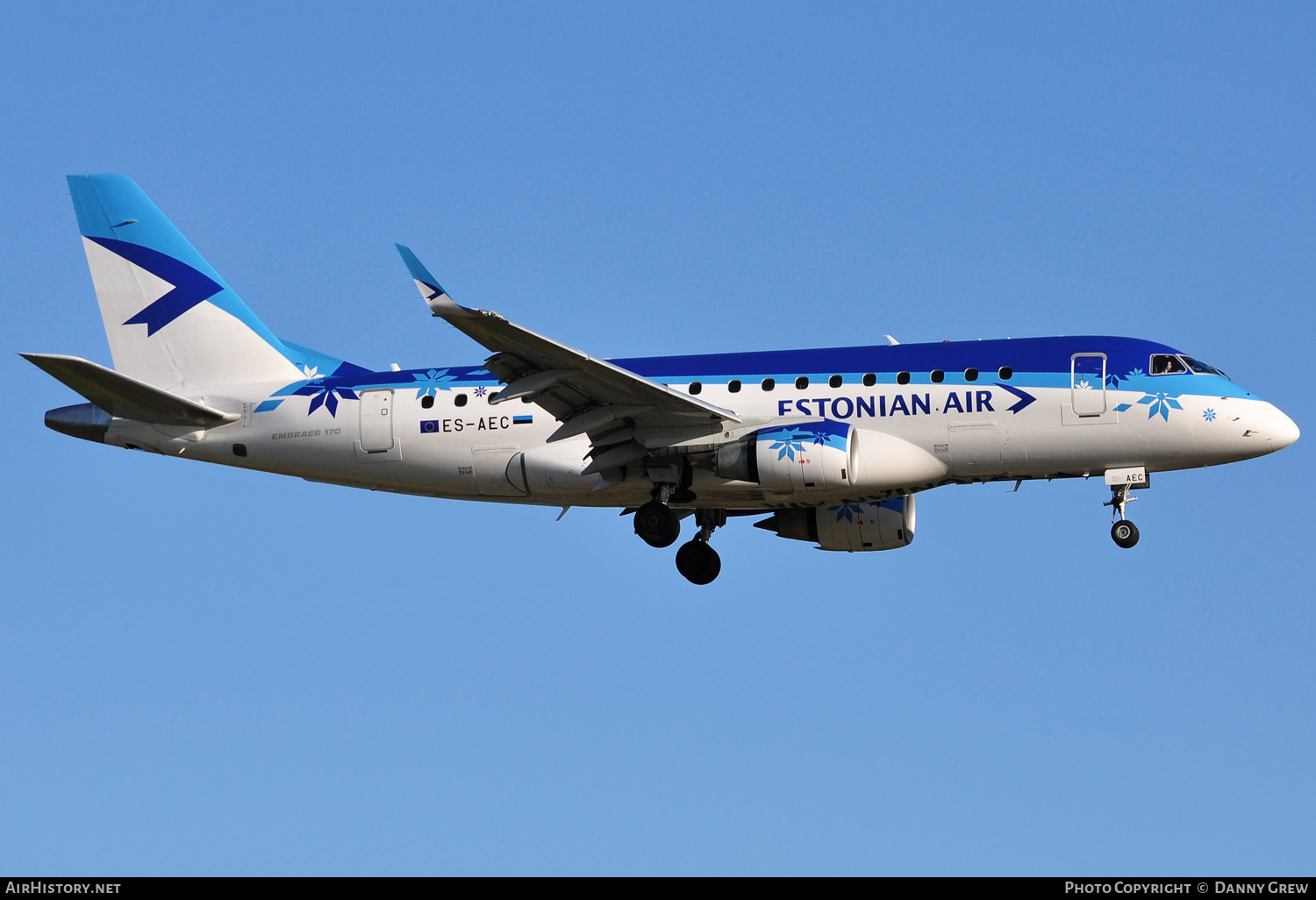 Aircraft Photo of ES-AEC | Embraer 190LR (ERJ-190-100LR) | Estonian Air | AirHistory.net