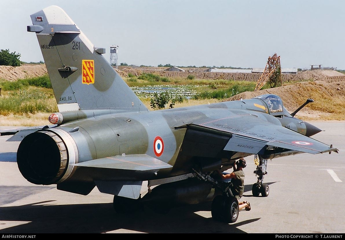 Aircraft Photo of 261 | Dassault Mirage F1CT | France - Air Force | AirHistory.net