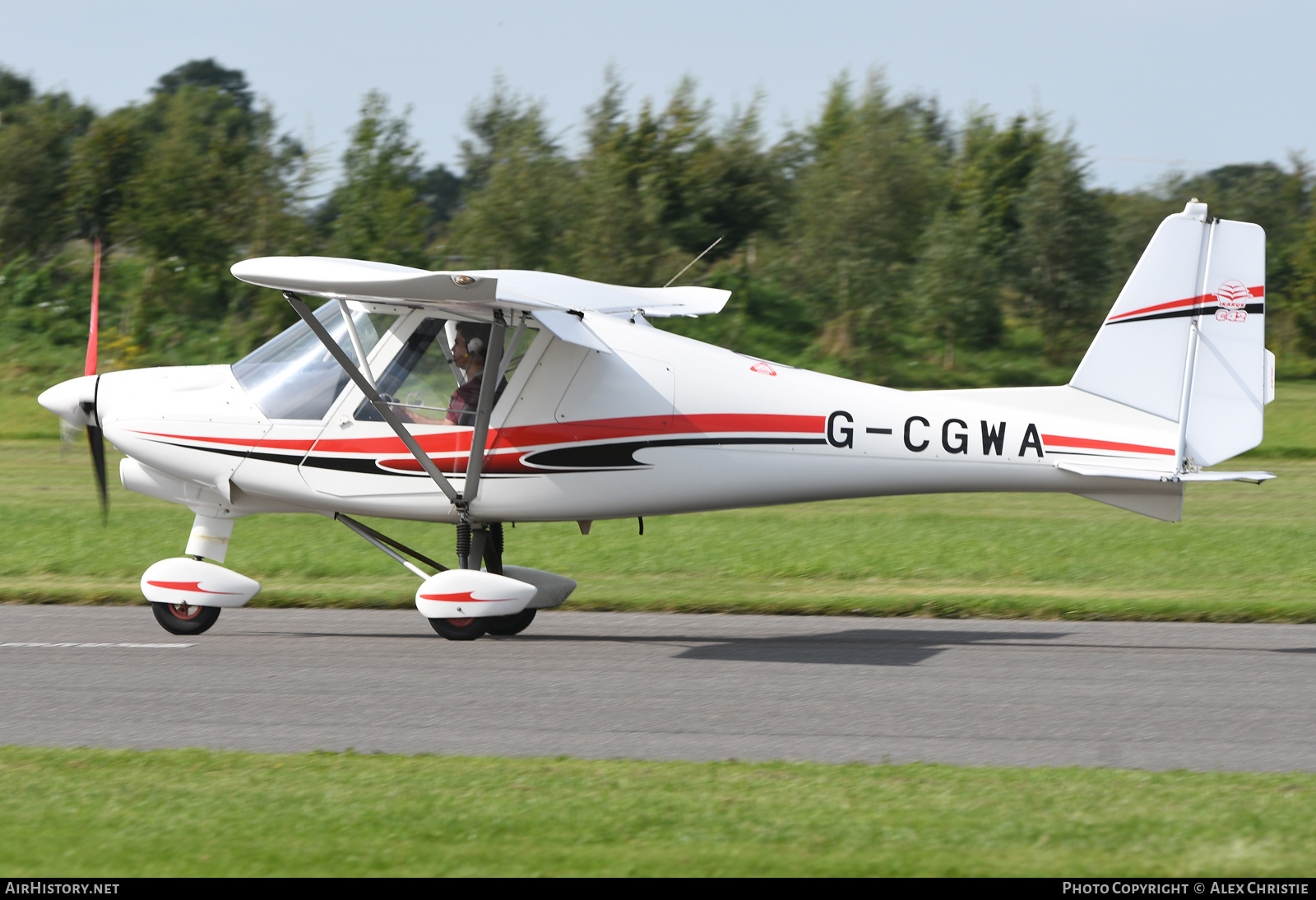 Aircraft Photo of G-CGWA | Ikarus C42 FB80 Bravo | AirHistory.net