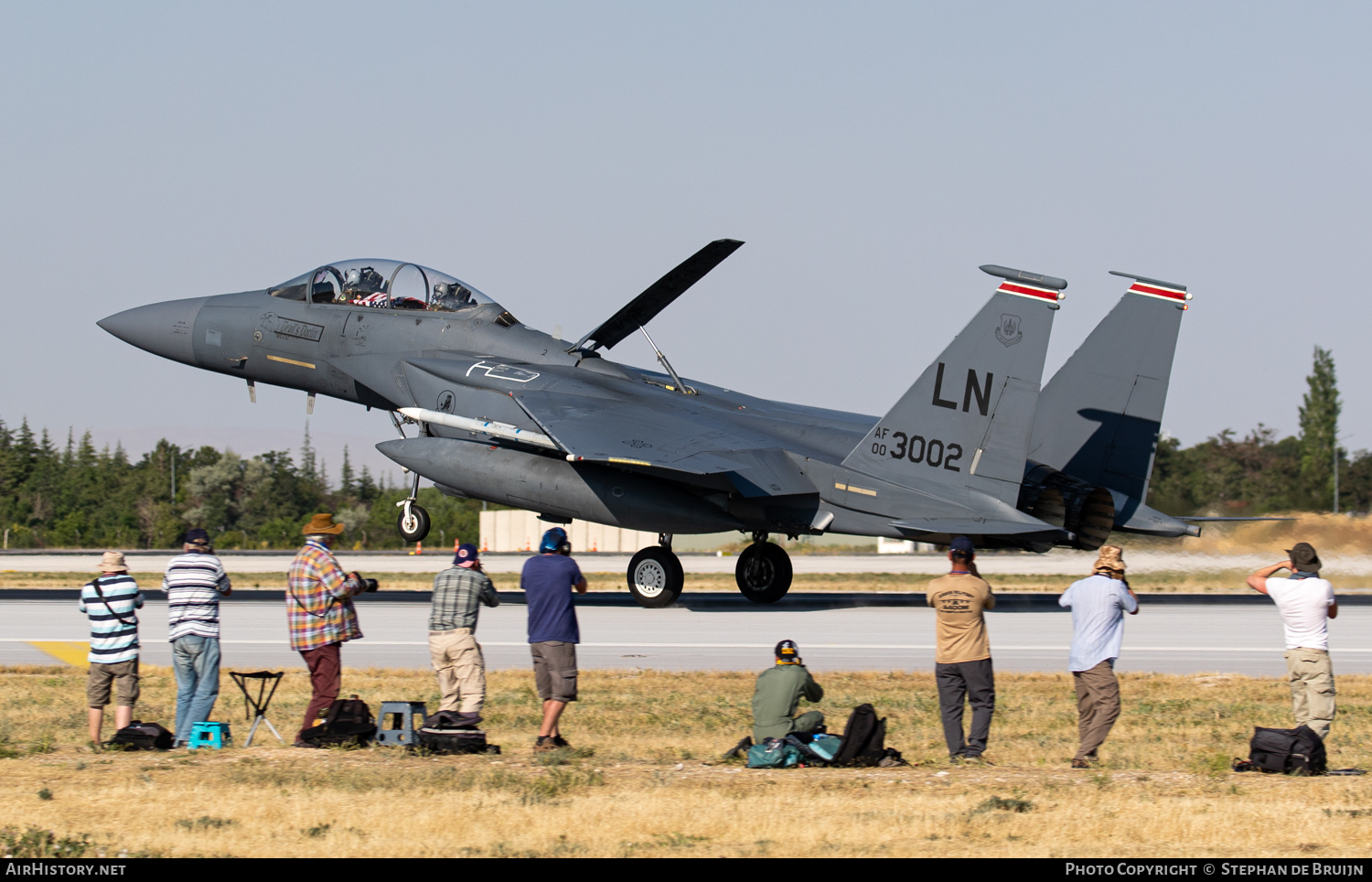 Aircraft Photo of 00-3002 / AF00-3002 | McDonnell Douglas F-15E Strike Eagle | USA - Air Force | AirHistory.net