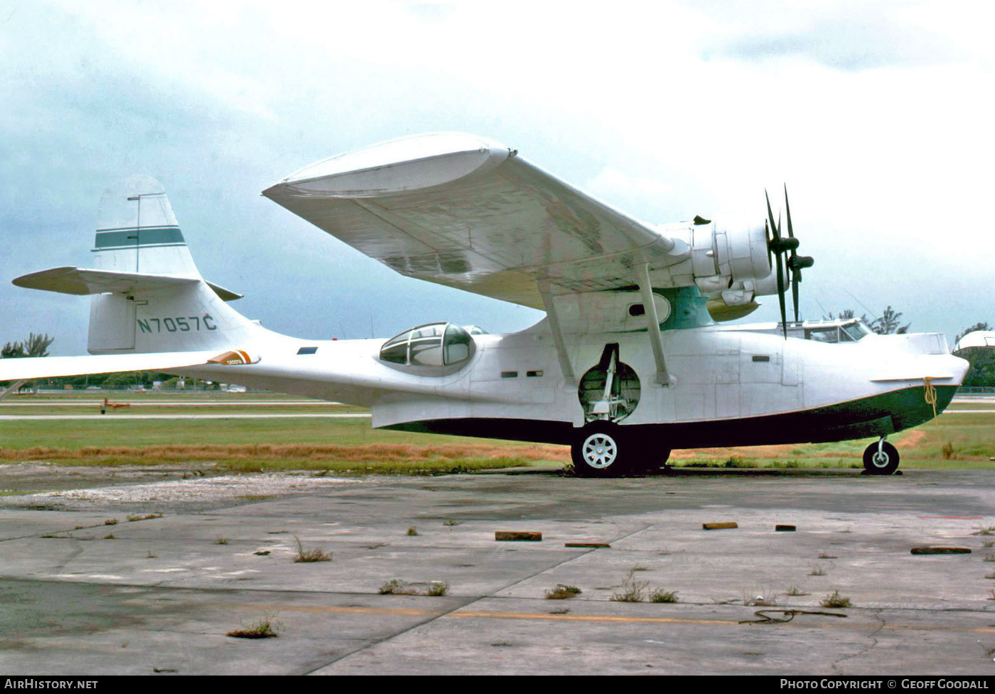 Aircraft Photo of N7057C | Consolidated PBY-6A Catalina | AirHistory.net #150851