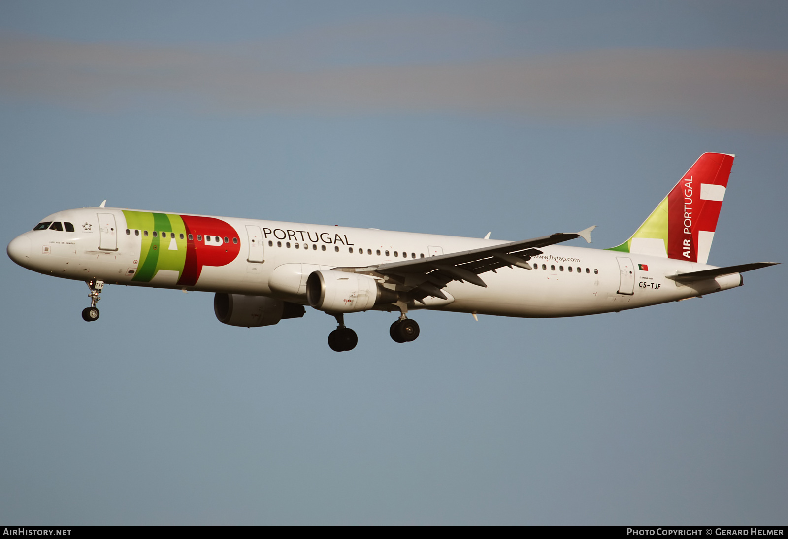 Aircraft Photo of CS-TJF | Airbus A321-211 | TAP Air Portugal | AirHistory.net #151192