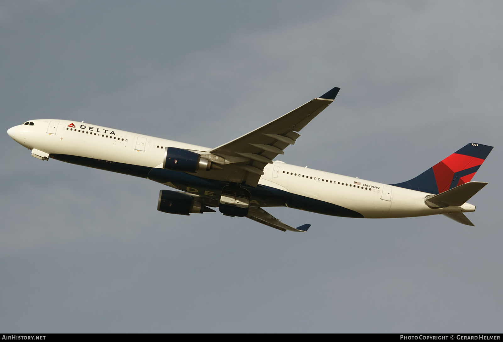 Aircraft Photo of N829NW | Airbus A330-302 | Delta Air Lines | AirHistory.net #151406