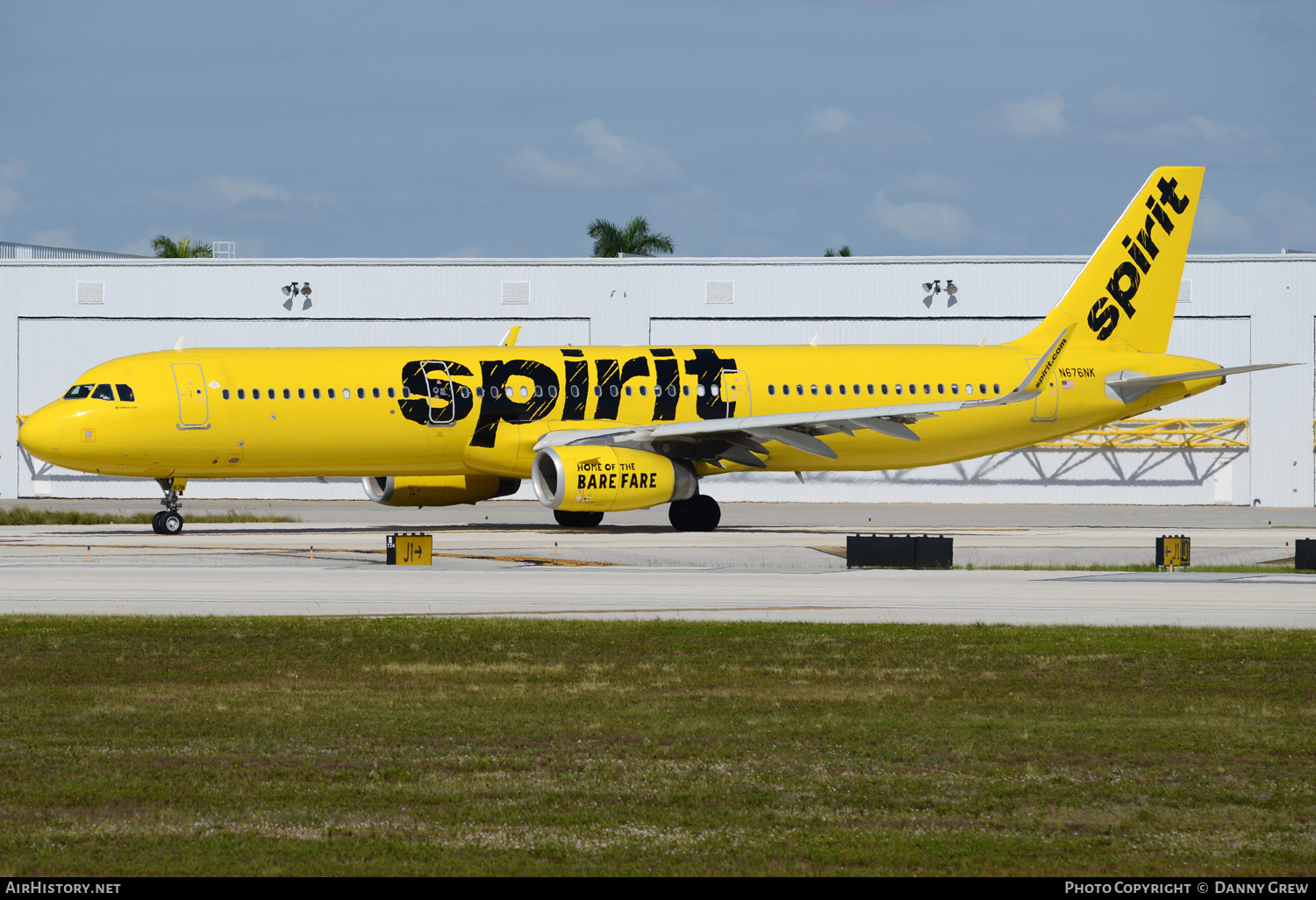 Aircraft Photo of N676NK | Airbus A321-231 | Spirit Airlines | AirHistory.net #151689