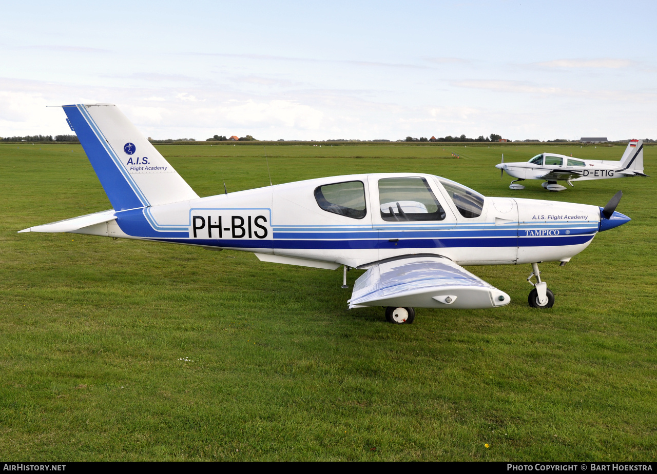 Aircraft Photo of PH-BIS | Socata TB-9C Tampico Club | AIS Flight Academy | AirHistory.net #151734