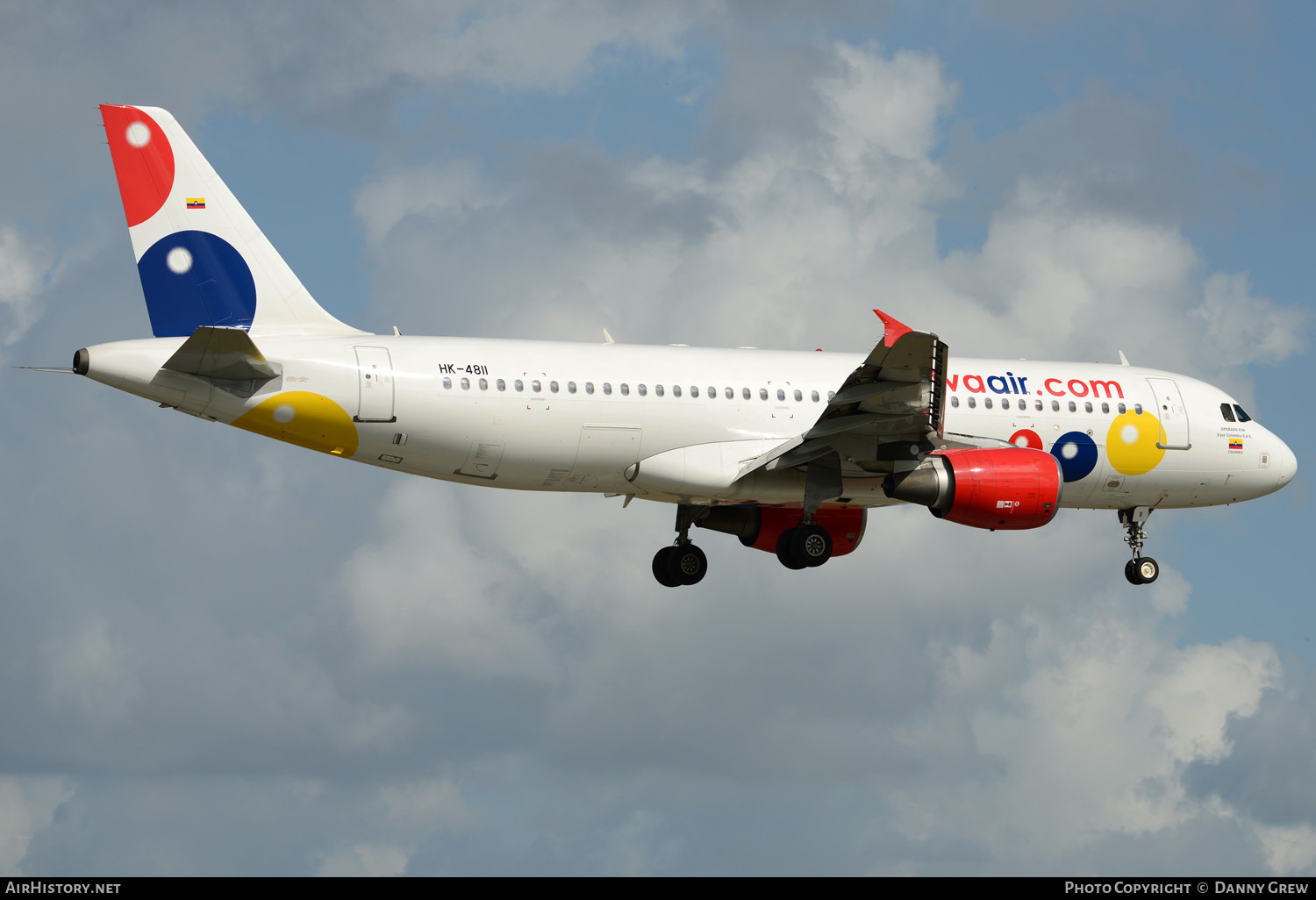 Aircraft Photo of HK-4811 | Airbus A320-214 | Viva Air | AirHistory.net #151781
