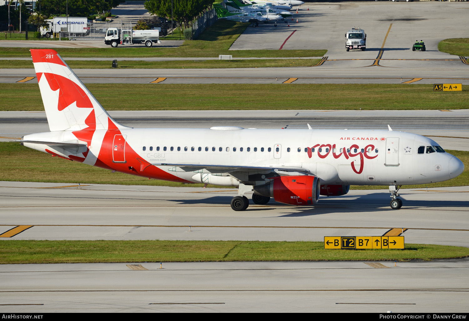 Aircraft Photo of C-GBIJ | Airbus A319-114 | Air Canada Rouge | AirHistory.net #151823