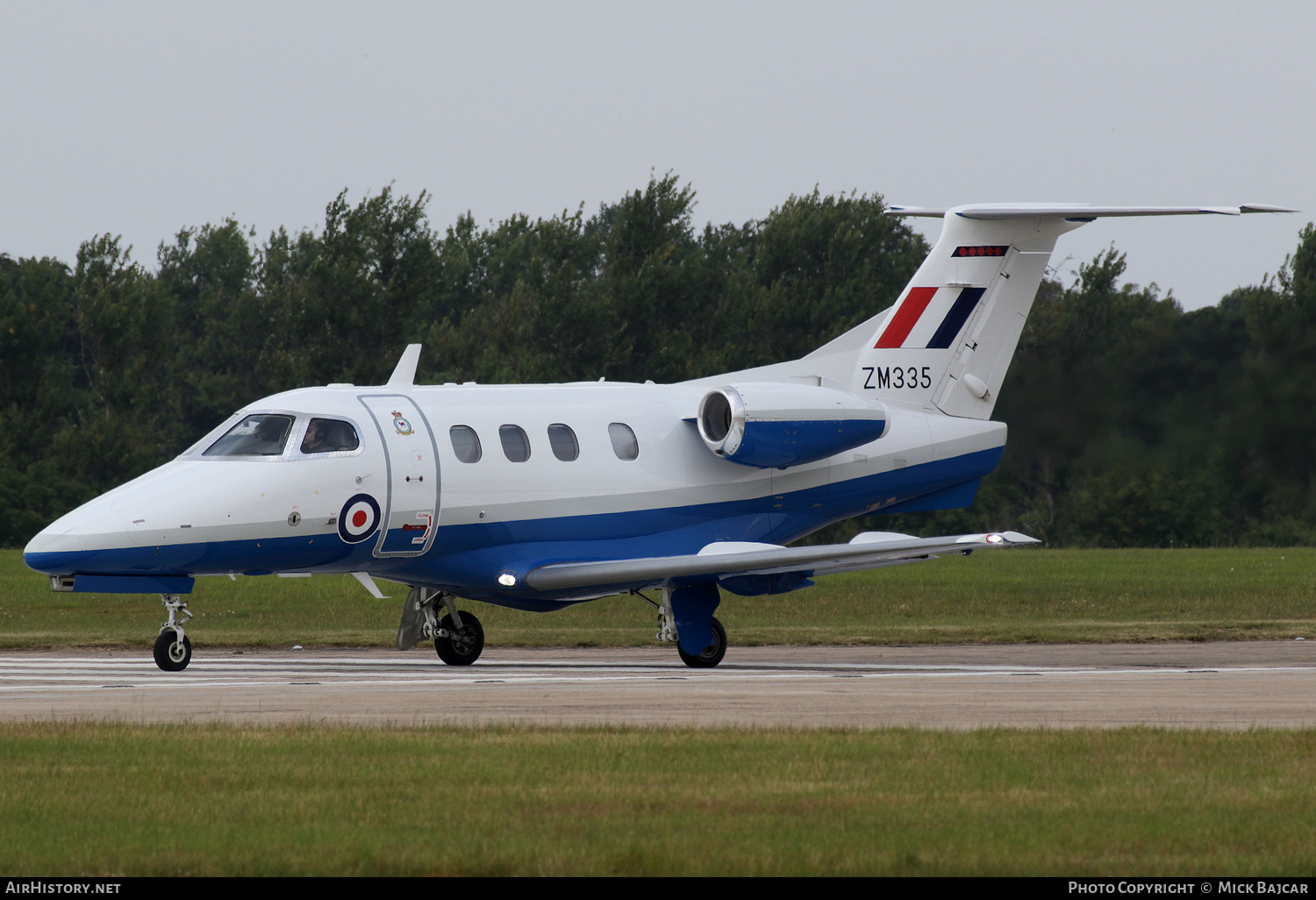Aircraft Photo of ZM335 | Embraer EMB-500 Phenom 100 | UK - Air Force | AirHistory.net #151864