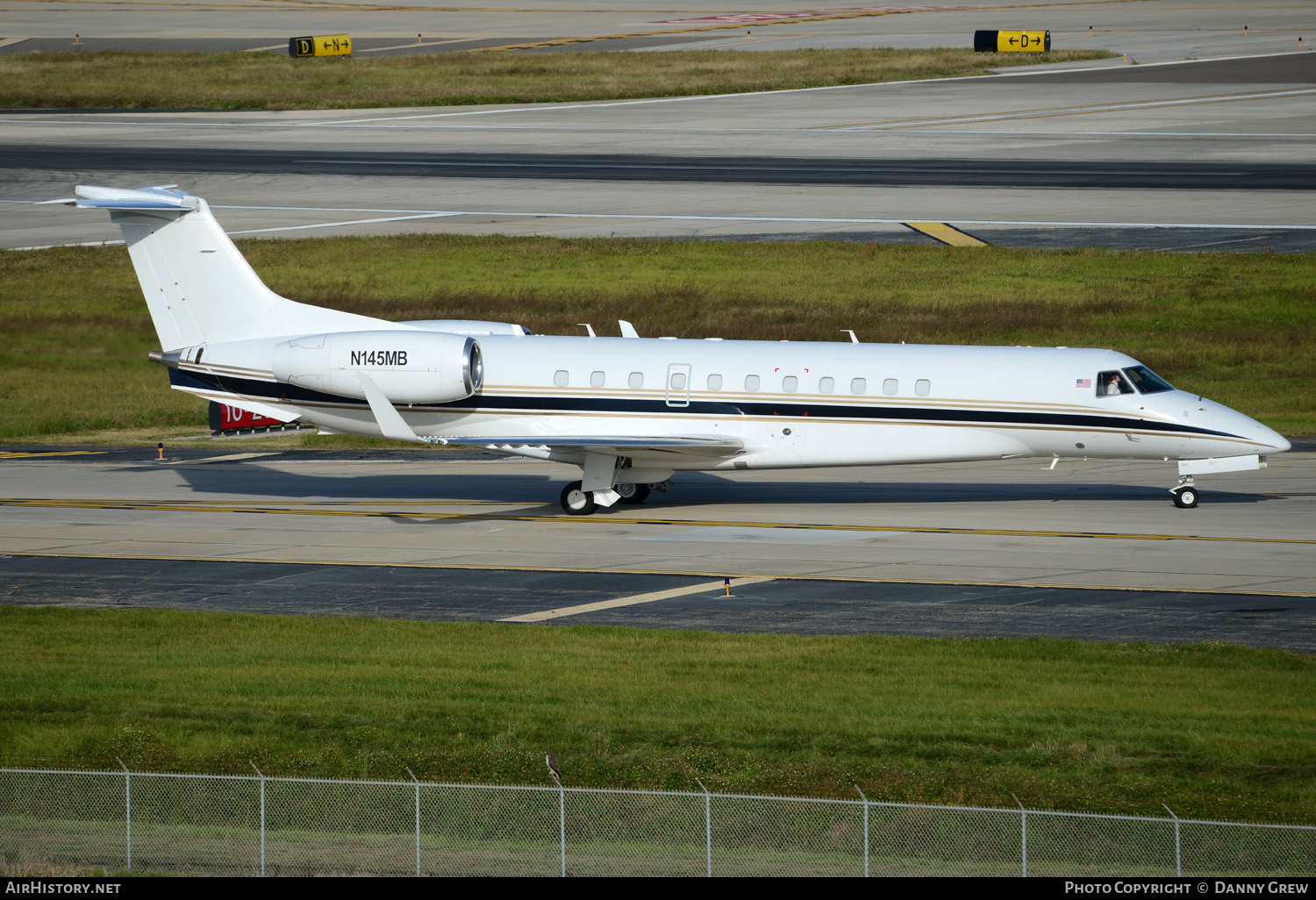 Aircraft Photo of N145MB | Embraer Legacy 600 (EMB-135BJ) | SR Jet | AirHistory.net #152562