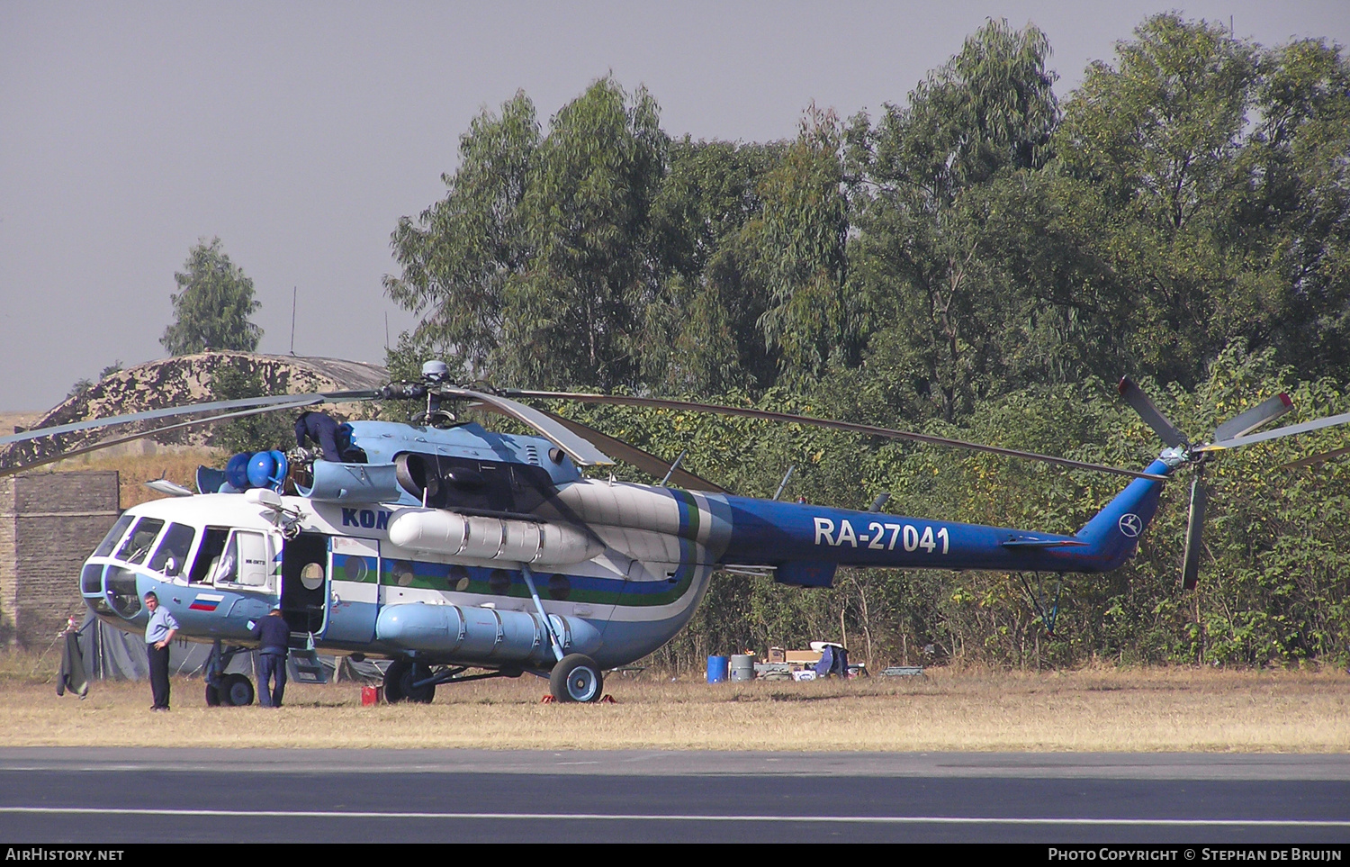 Aircraft Photo of RA-27041 | Mil Mi-8MTV-1 | Komiavia | AirHistory.net
