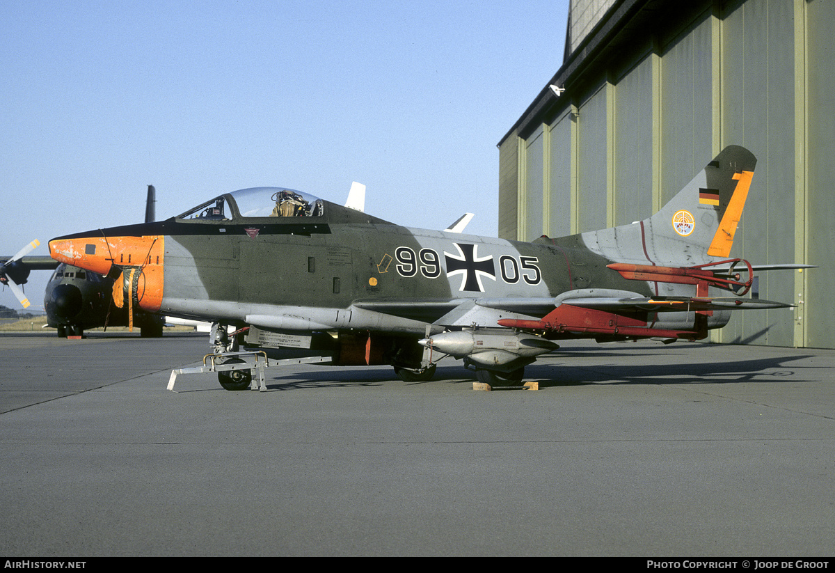Aircraft Photo of 9905 | Fiat G-91R/3 | Germany - Air Force | AirHistory.net #157932