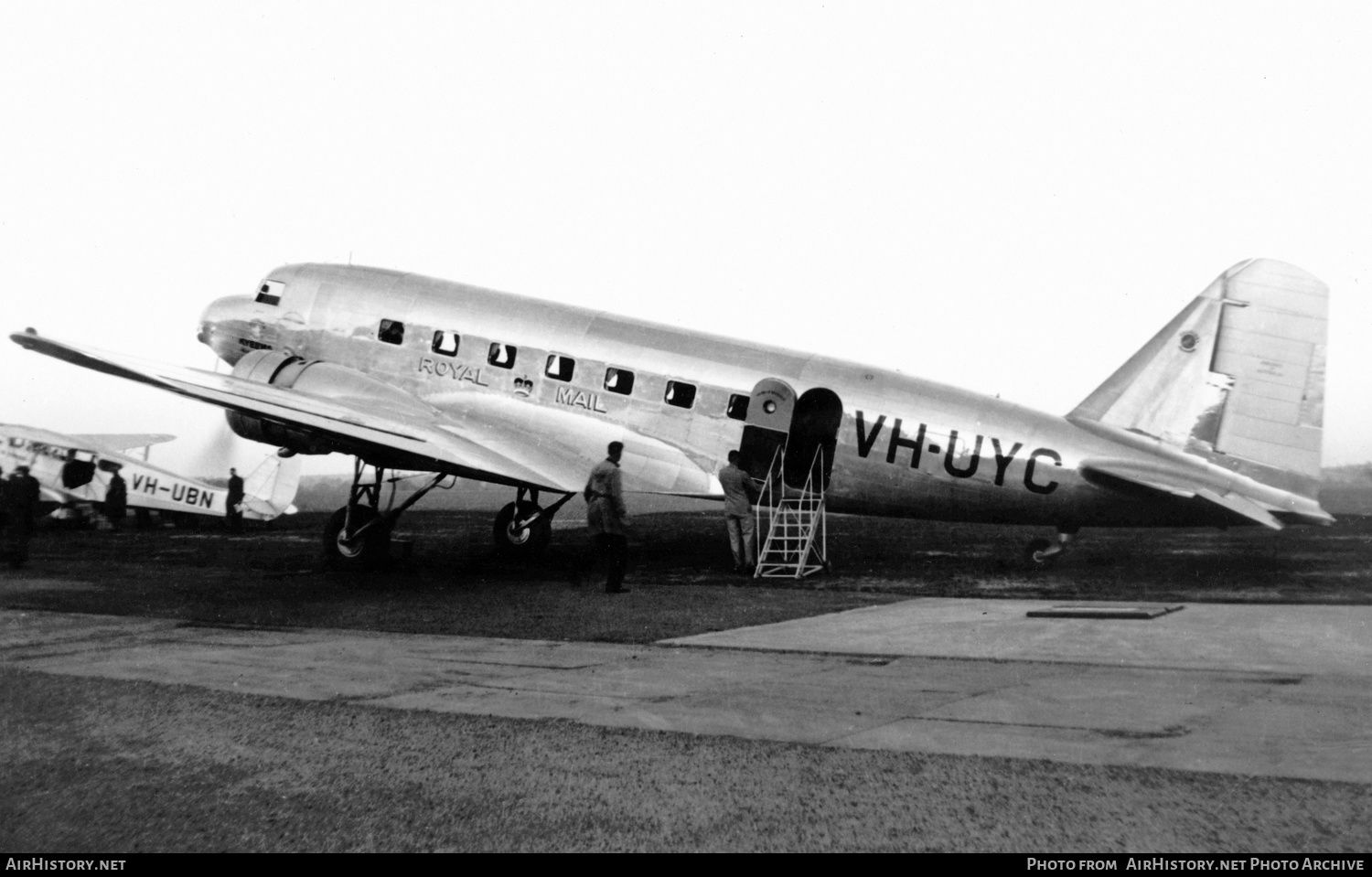 Aircraft Photo of VH-UYC | Douglas DC-2-210 | Airlines of Australia | AirHistory.net