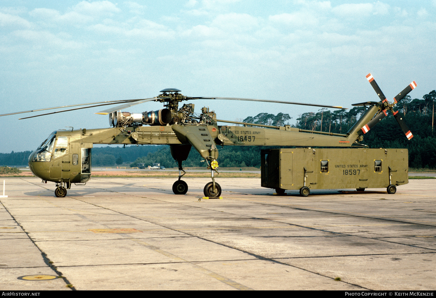 Aircraft Photo of 68-18457 / 18457 | Sikorsky CH-54A Tarhe (S-64A) | USA - Army | AirHistory.net