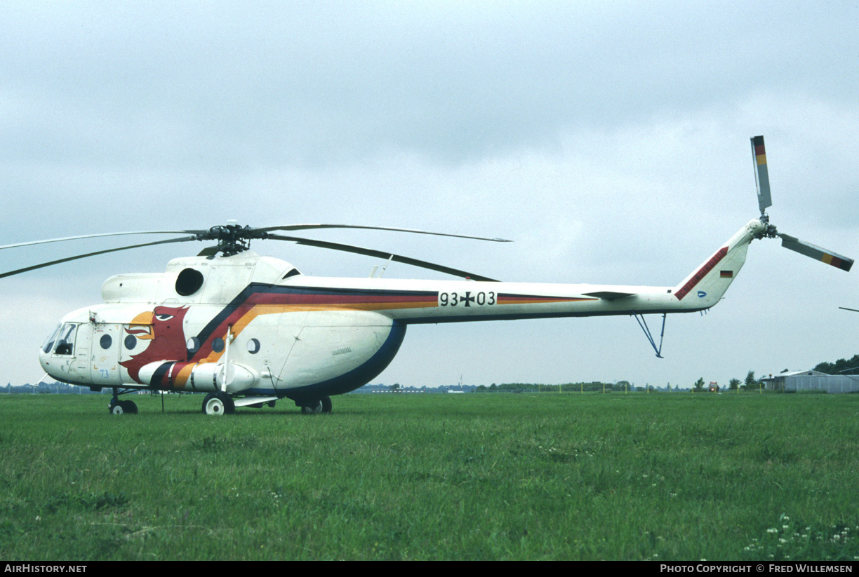 Aircraft Photo of 9303 | Mil Mi-8T | Germany - Air Force | AirHistory.net