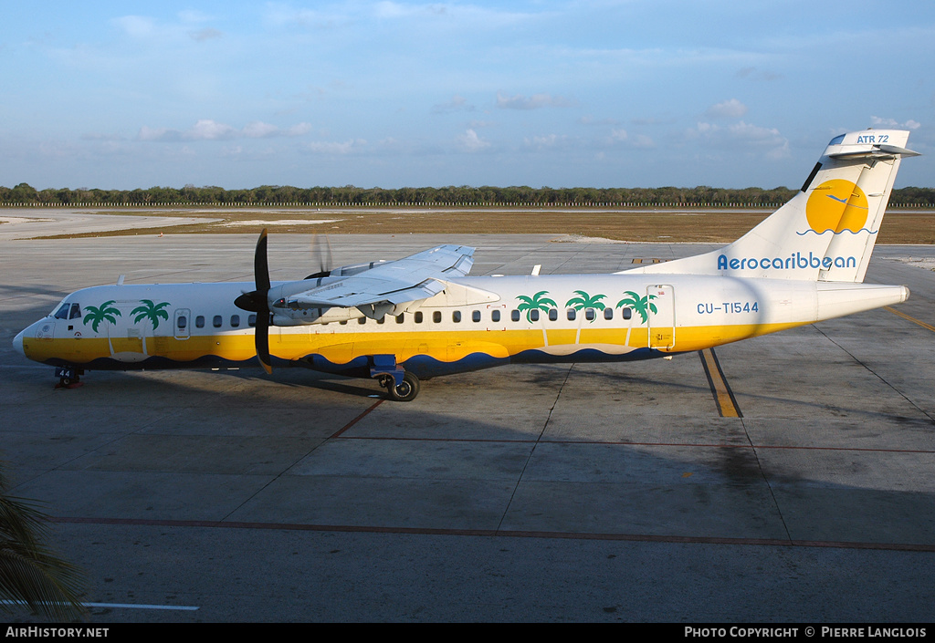 Aircraft Photo of CU-T1544 | ATR ATR-72-212 | Aero Caribbean | AirHistory.net
