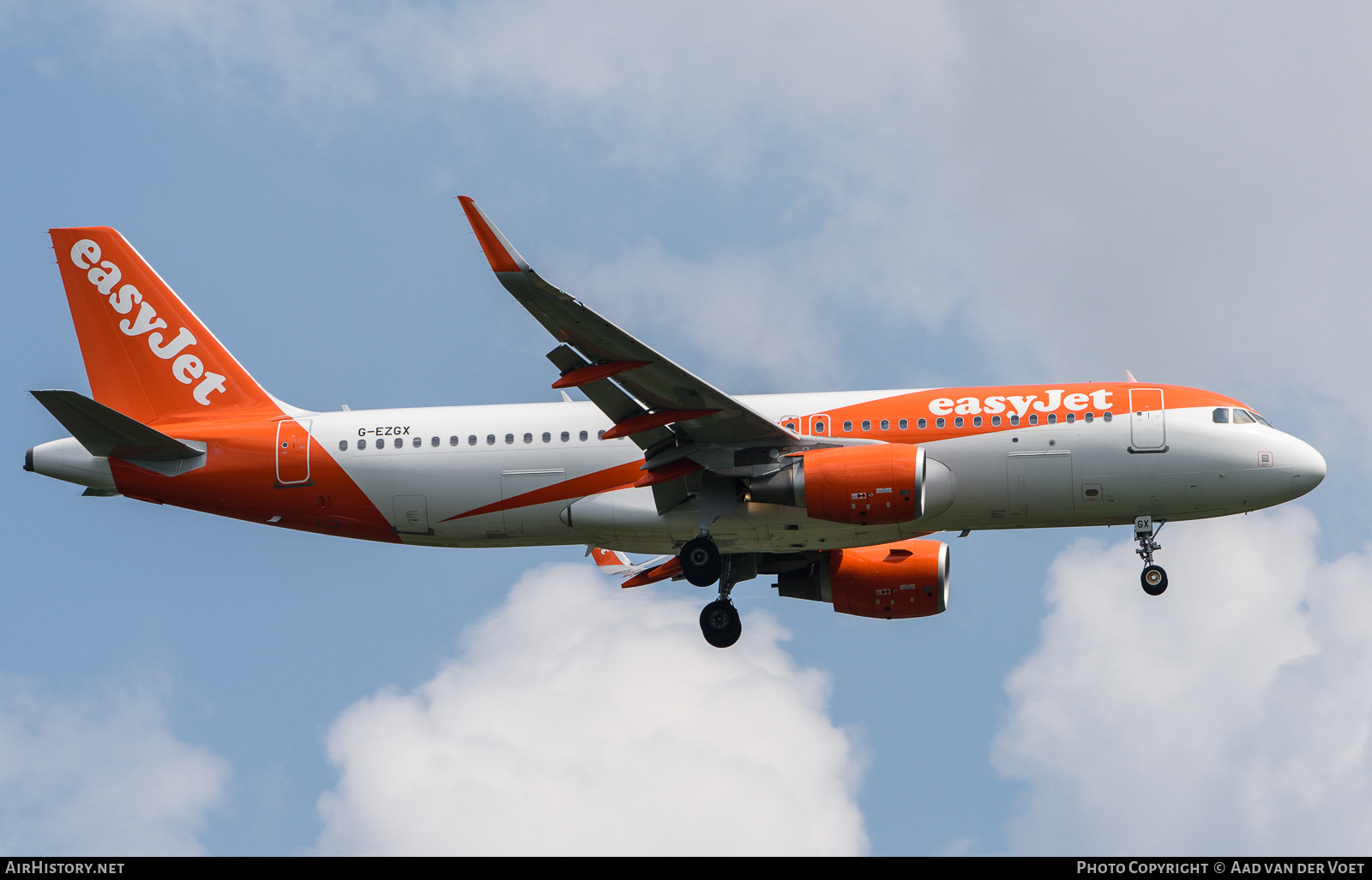 Aircraft Photo of G-EZGX | Airbus A320-214 | EasyJet | AirHistory.net