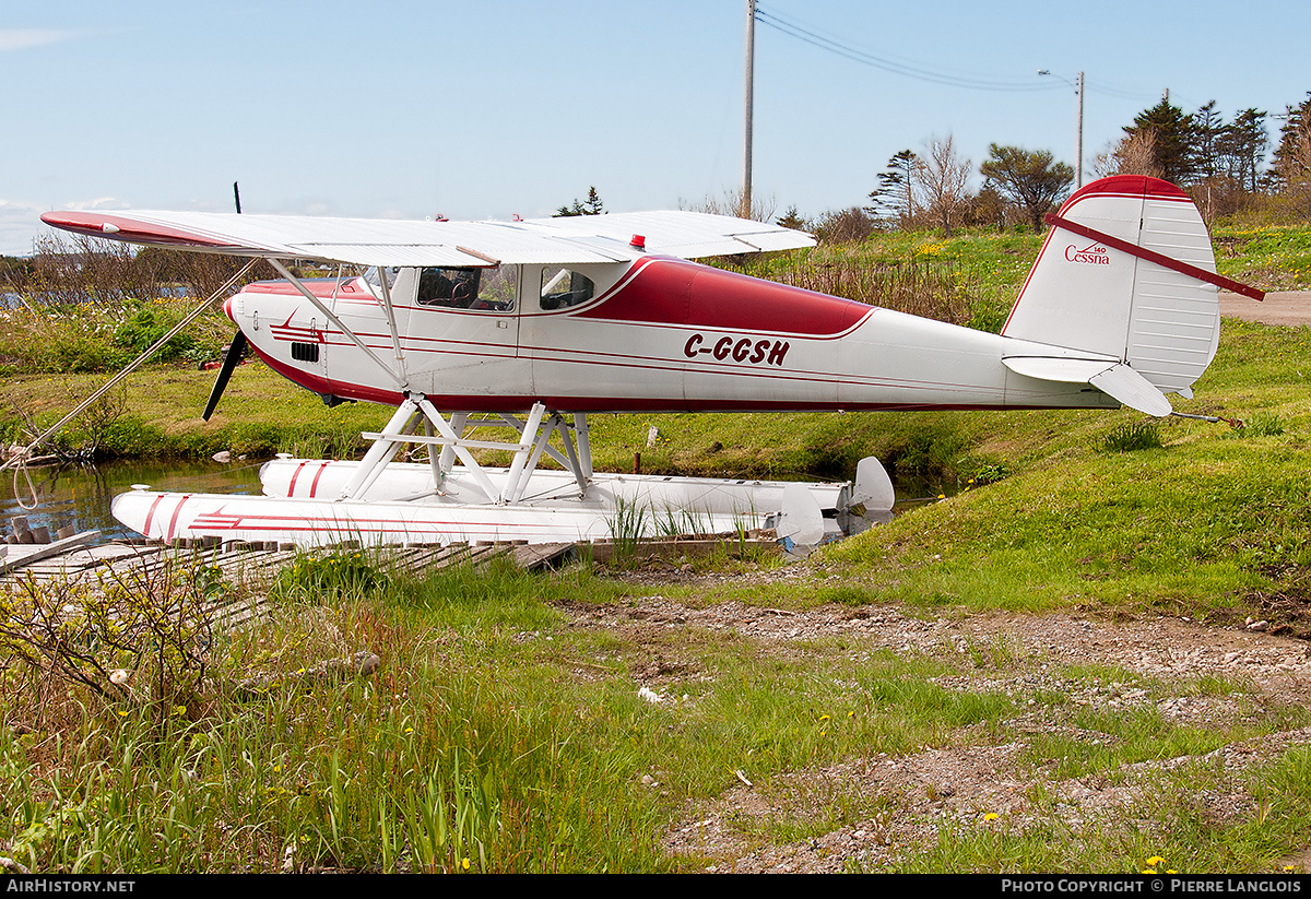 Aircraft Photo of C-GGSH | Cessna 140X | AirHistory.net