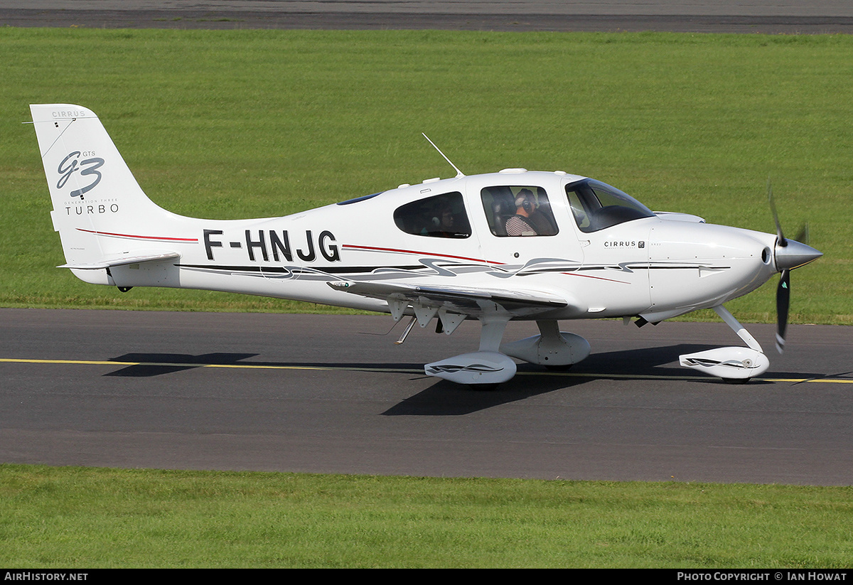 Aircraft Photo of F-HNJG | Cirrus SR-22 G3-GTS Turbo | AirHistory.net