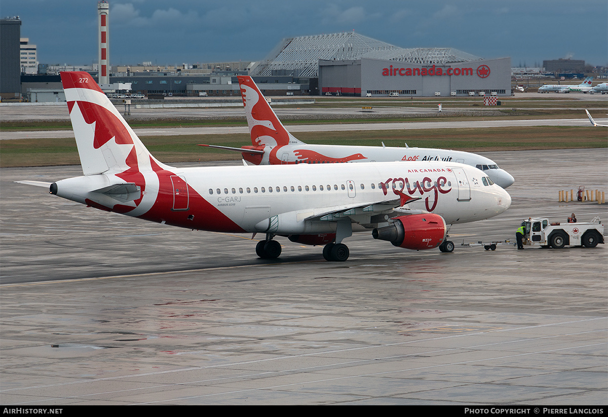 Aircraft Photo of C-GARJ | Airbus A319-114 | Air Canada Rouge | AirHistory.net
