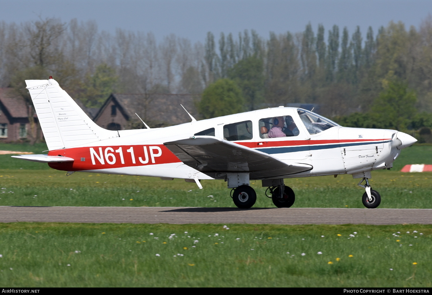 Aircraft Photo of N611JP | Piper PA-28-161 Warrior II | AirHistory.net